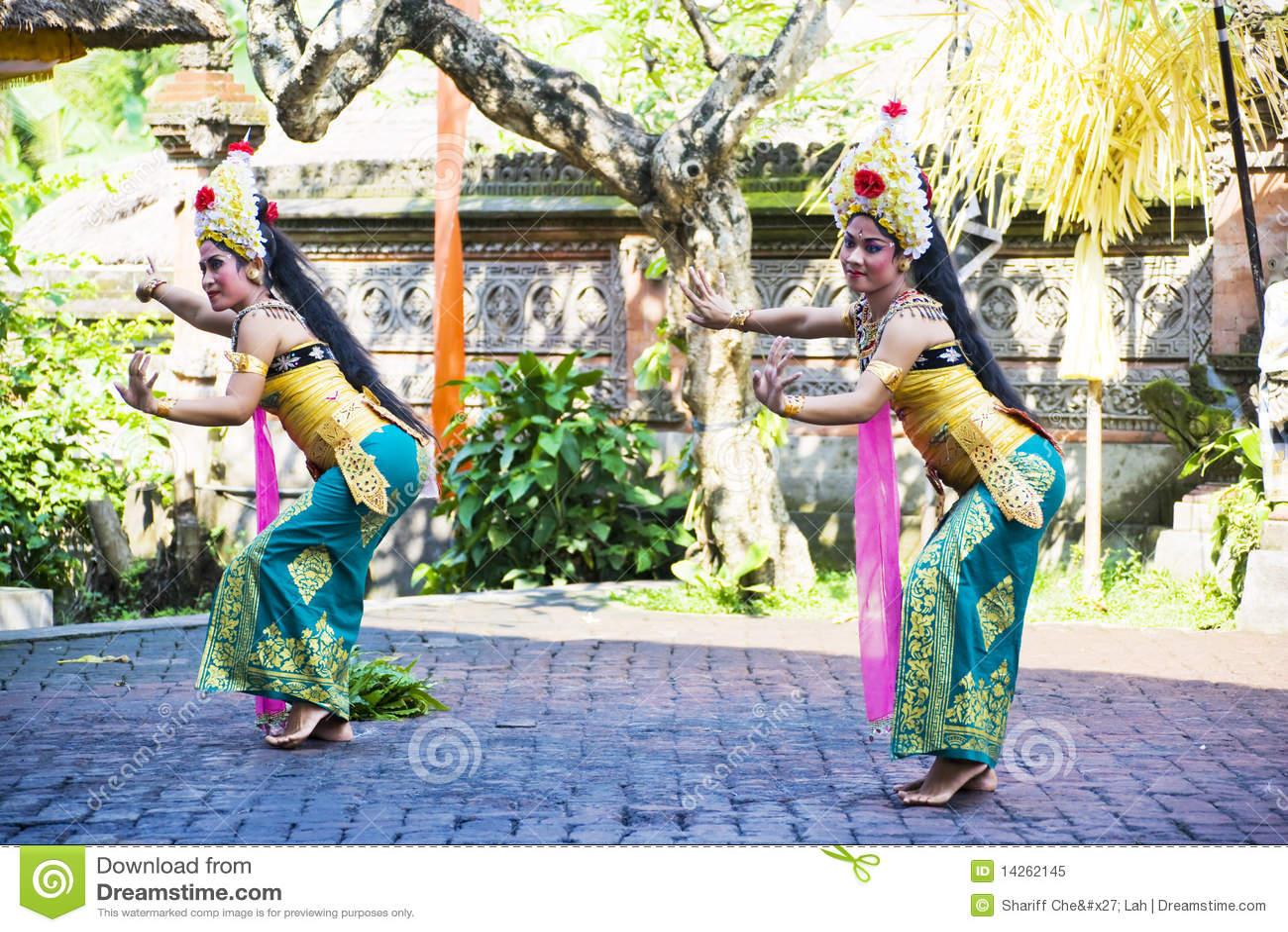 χορός Ινδονησία του Μπαλί b