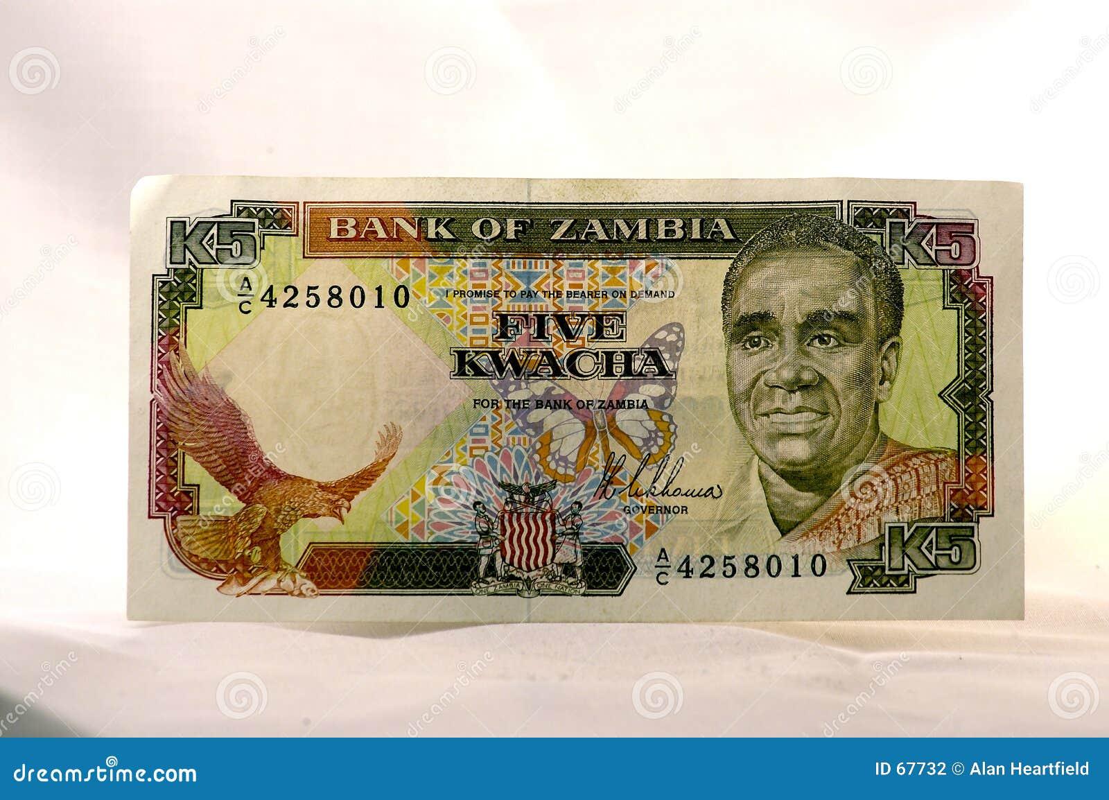 χρήματα κάτοικος της Ζάμπι&a