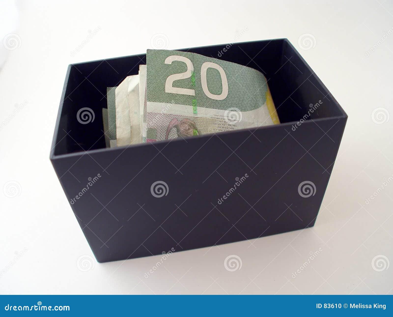 χρήματα κιβωτίων