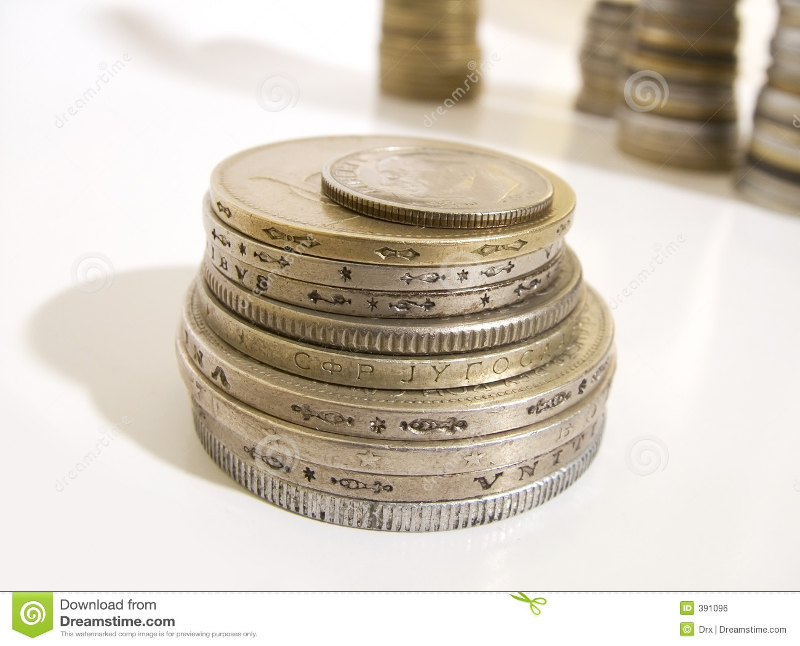 χρήματα νομισμάτων