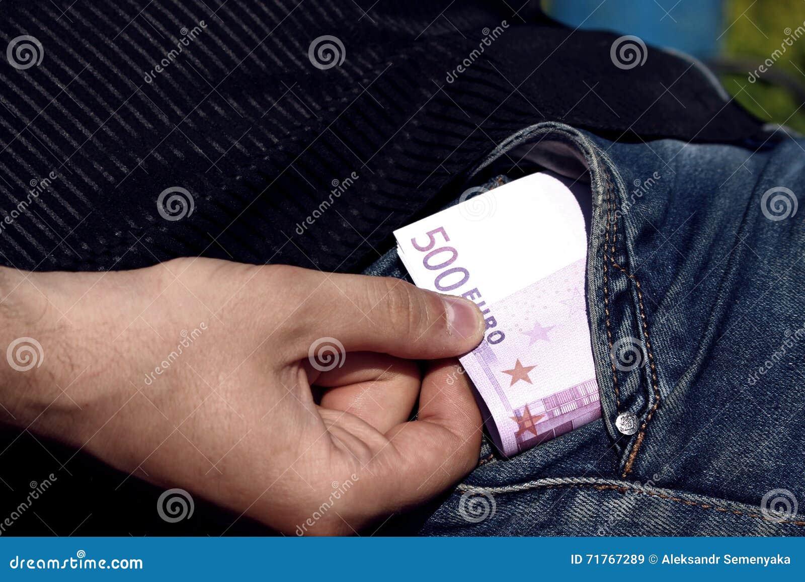 Χρήματα στην τσέπη