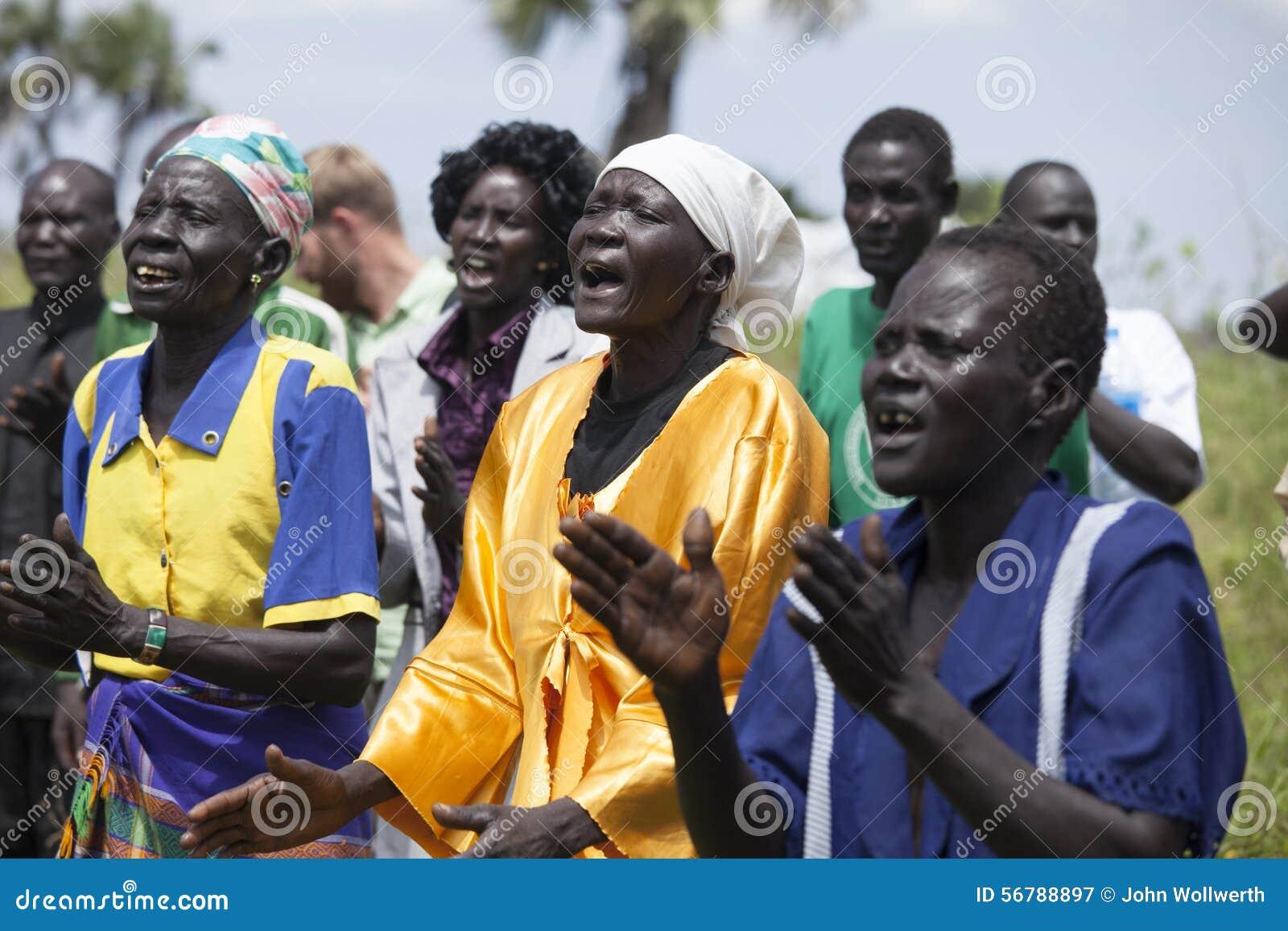 Χριστιανοί στο Νότιο Σουδάν