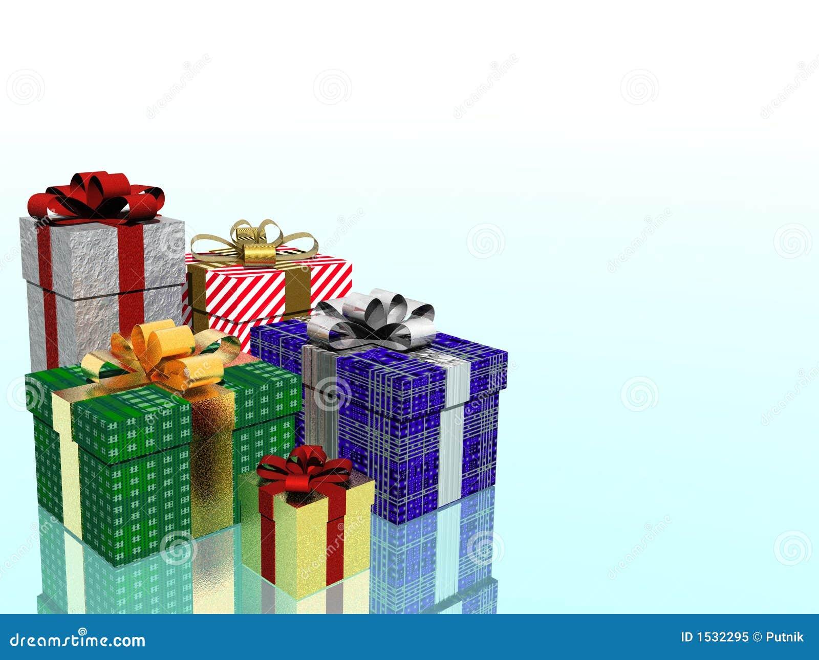 Download χριστουγεννιάτικα δώρα απεικόνιση αποθεμάτων. εικονογραφία από χαρά - 1532295
