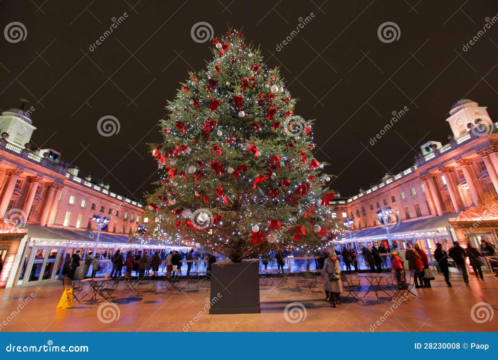 Χριστουγεννιάτικο δέντρο στο σπίτι Sommerset