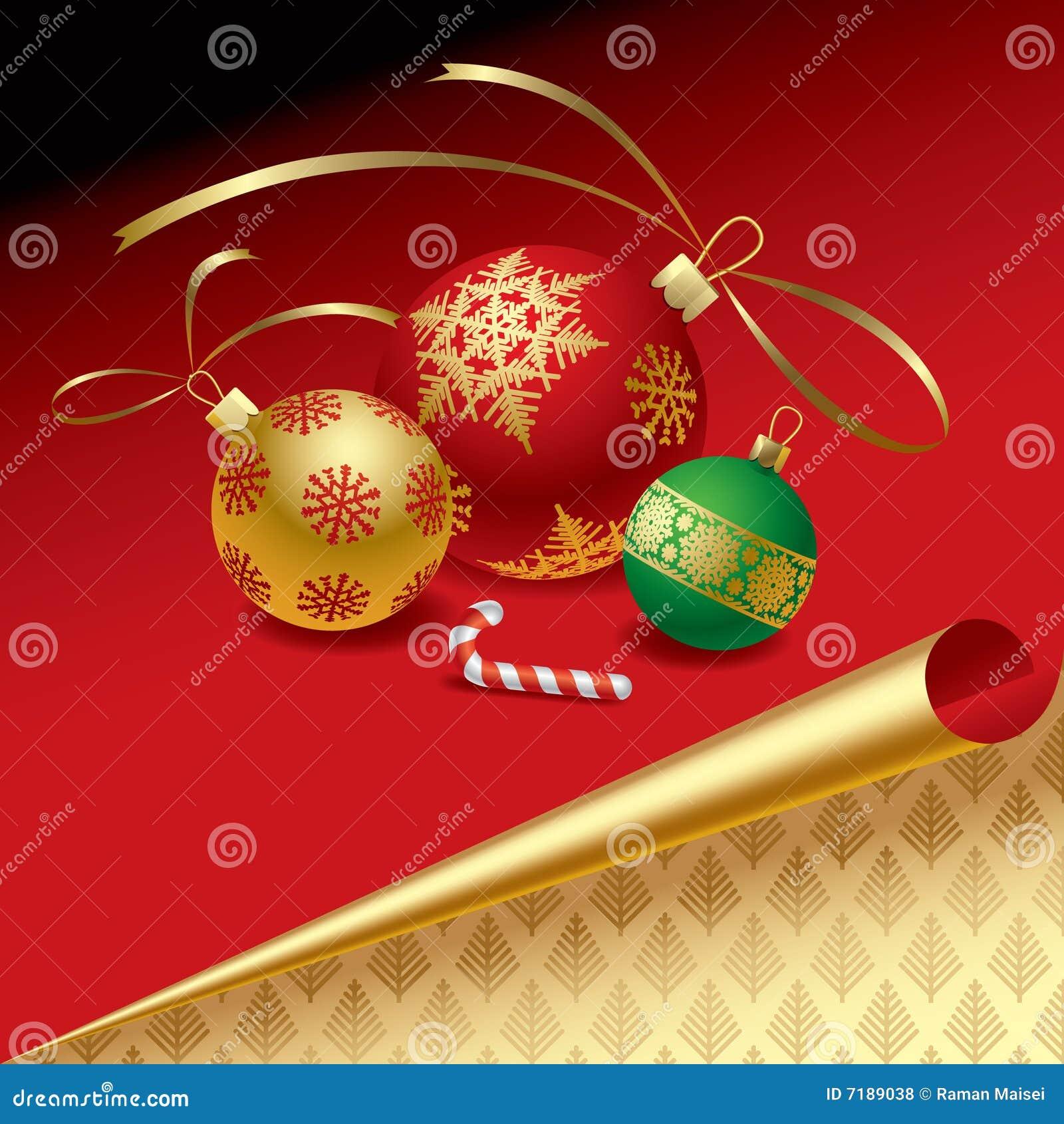 Χριστούγεννα καρτών που χαιρετούν το νέο έτος του s