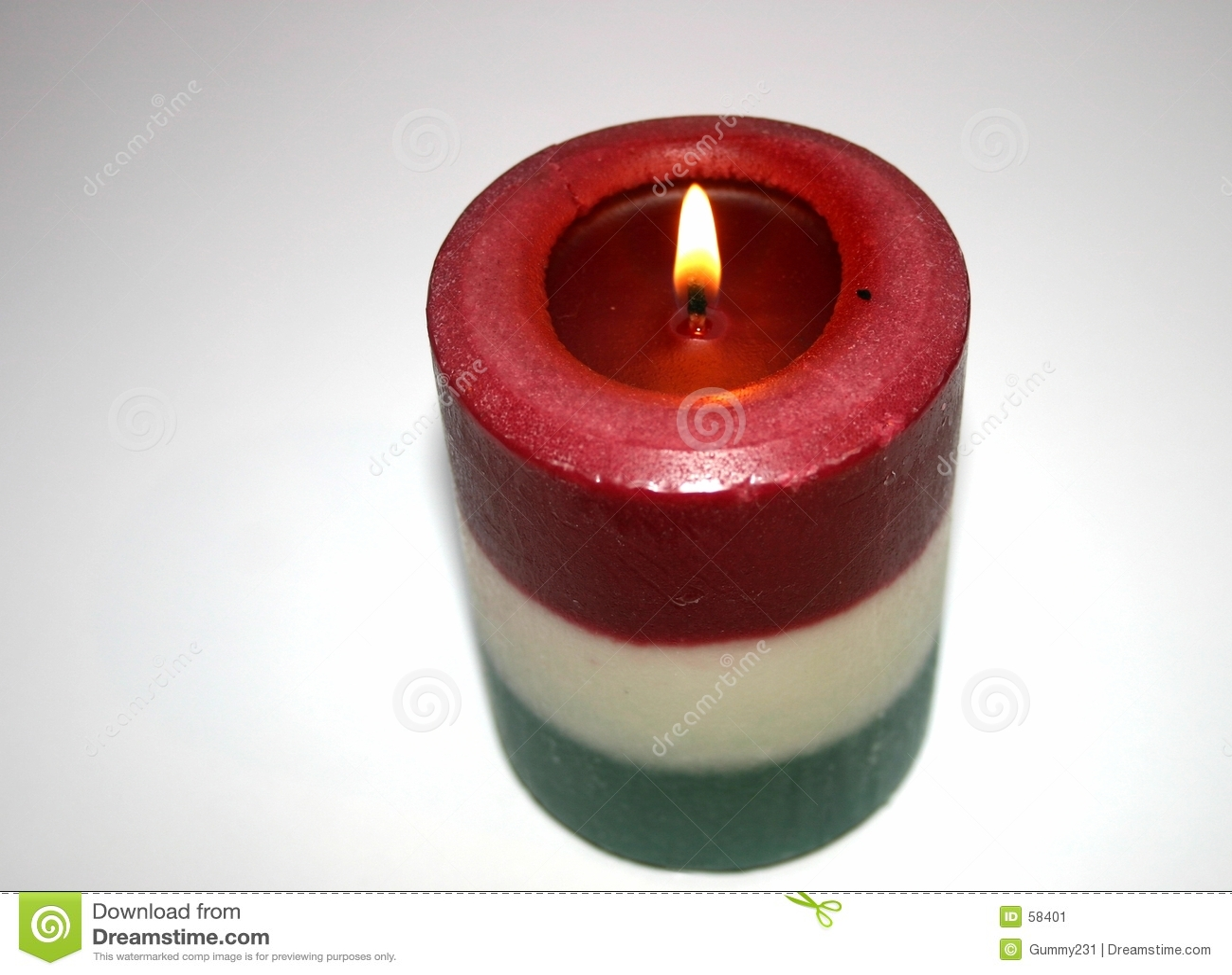 Download Χριστούγεννα κεριών στοκ εικόνα. εικόνα από άνεση, φω, κάψιμο - 58401