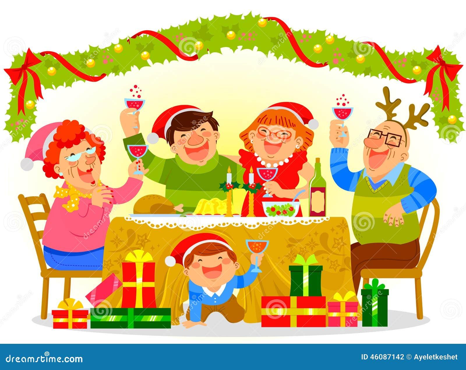 Χριστούγεννα οικογενειακού εορτασμού