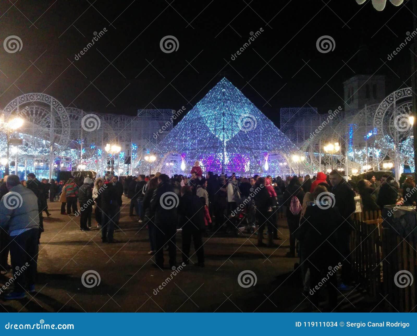Χριστούγεννα στην πόλη Torrejà ³ ν