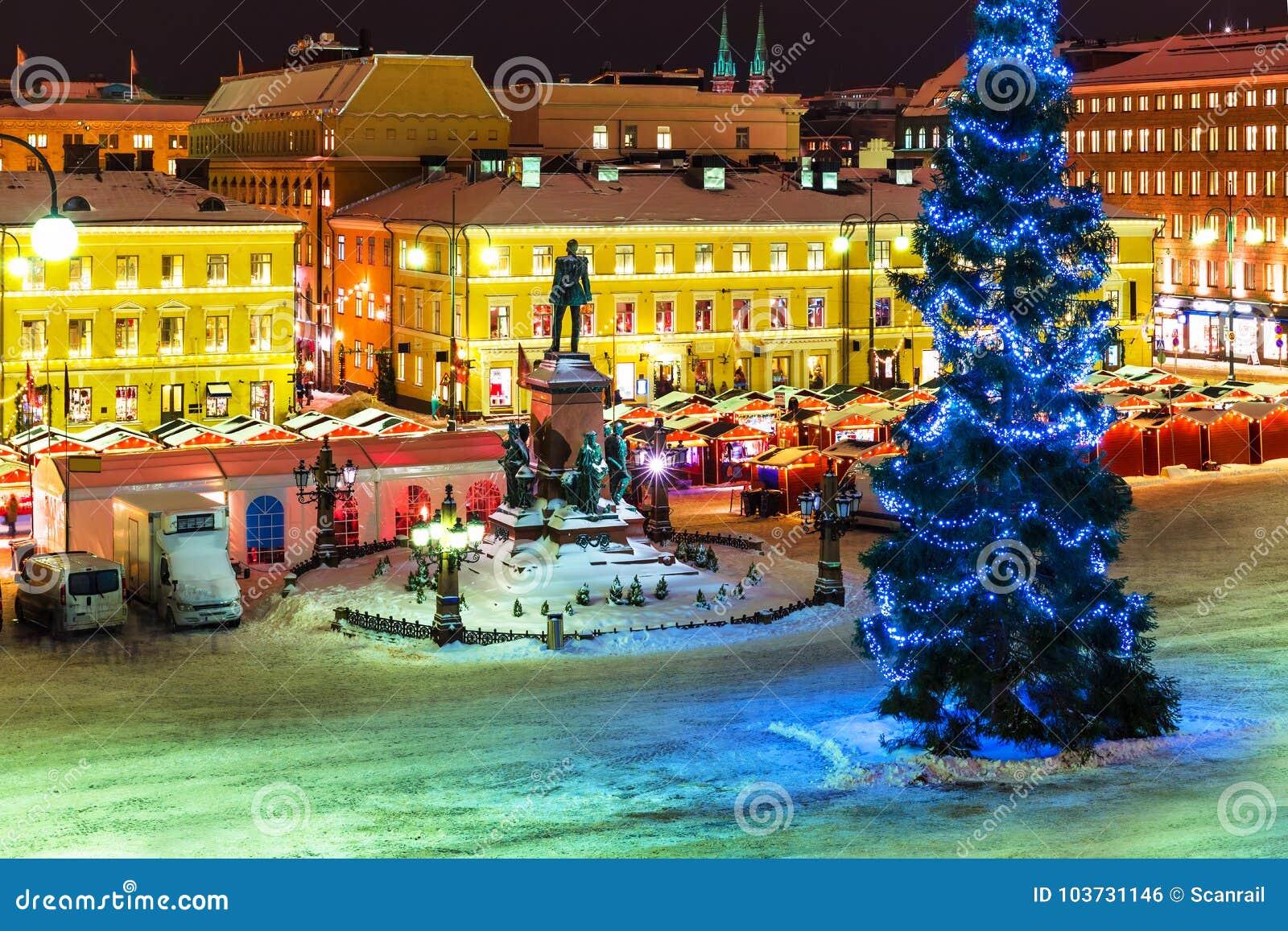 Χριστούγεννα στο Ελσίνκι, Φινλανδία