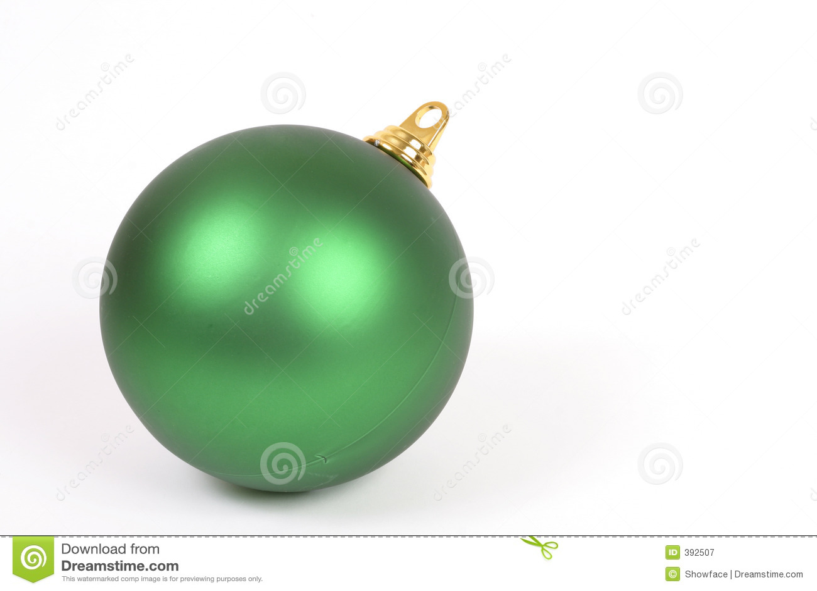 Χριστούγεννα σφαιρών unadorned