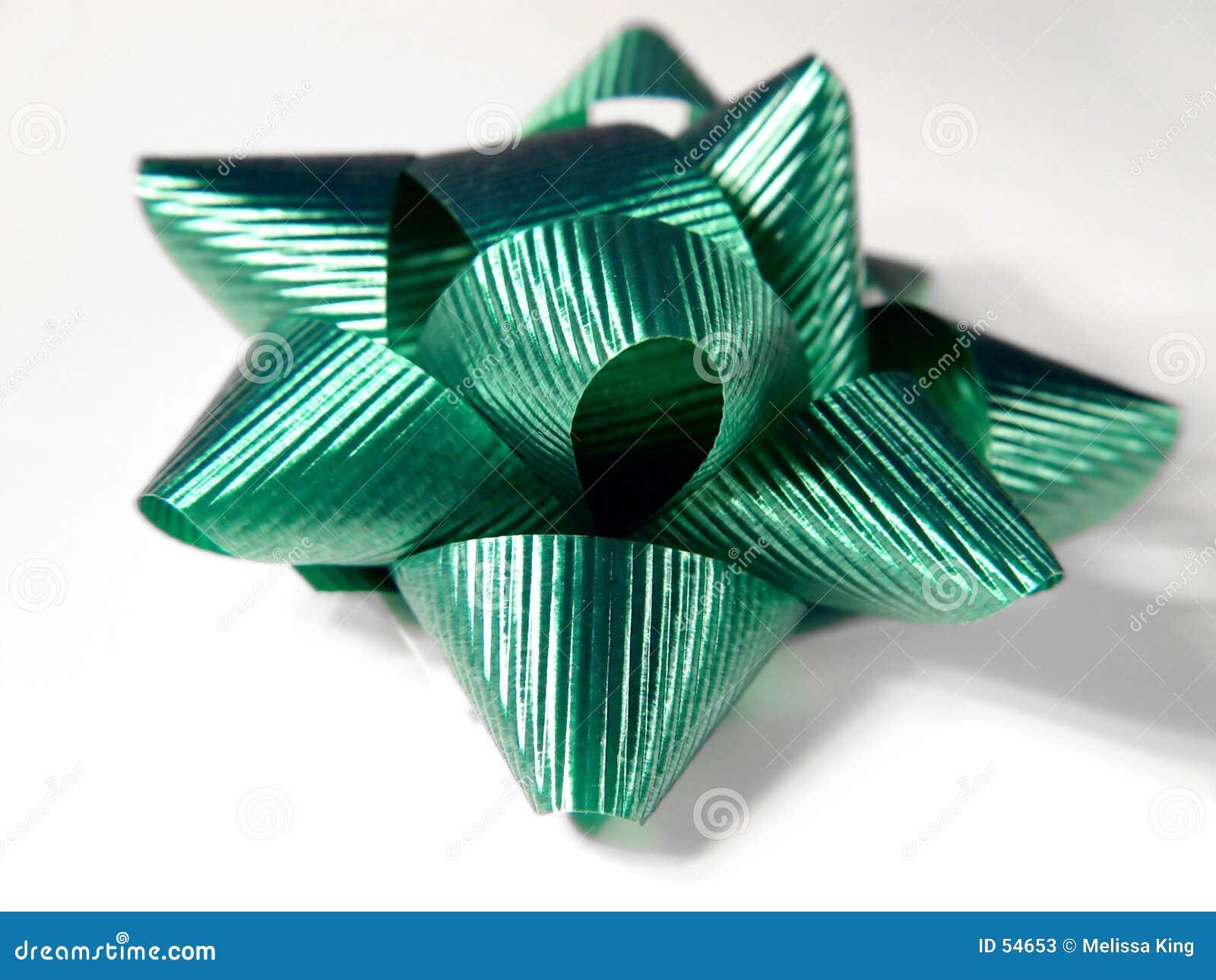 Download Χριστούγεννα τόξων πράσινα στοκ εικόνα. εικόνα από απομονωμένος - 54653