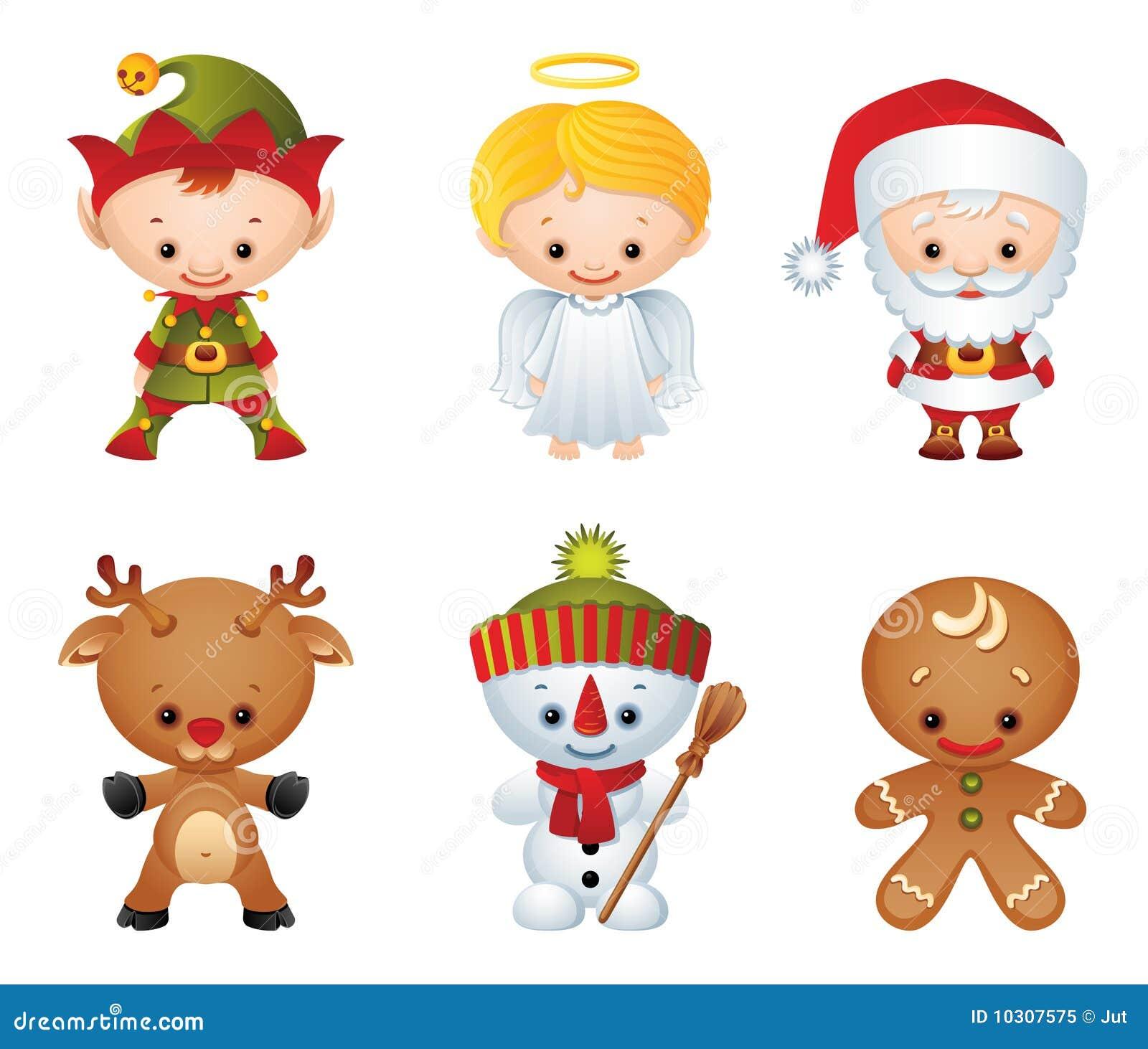 Χριστούγεννα χαρακτήρων
