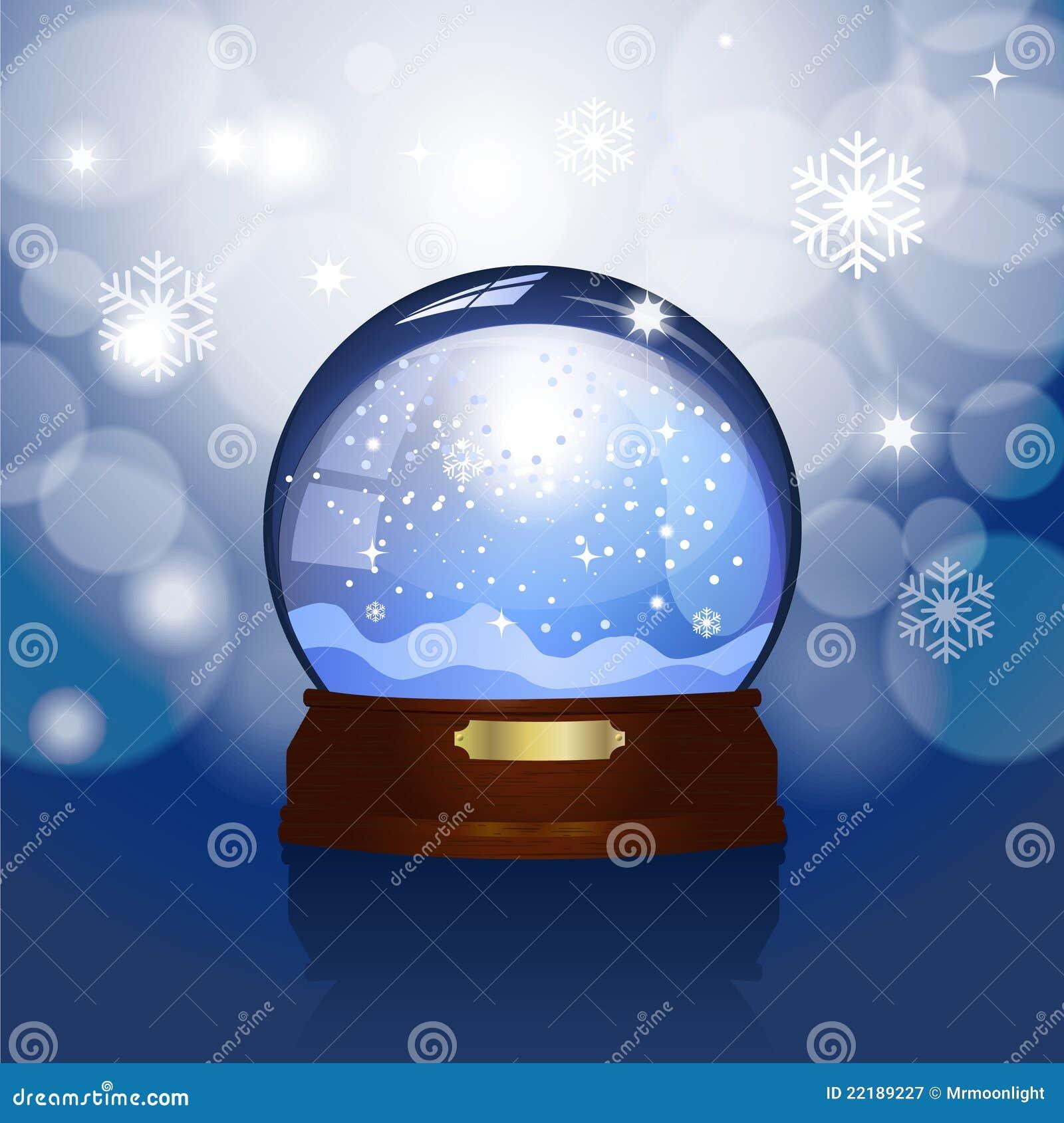 Χριστούγεννα snowglobe