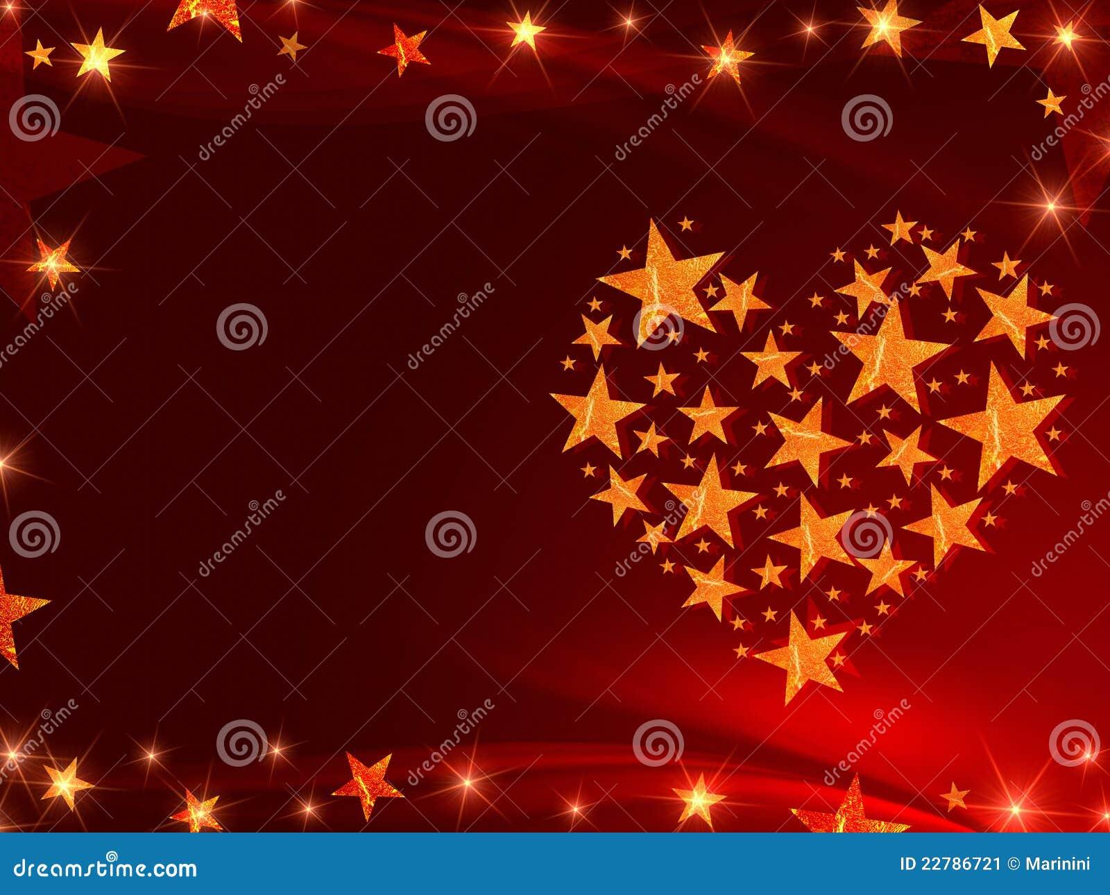 Χρυσά αστέρια όπως την καρδιά