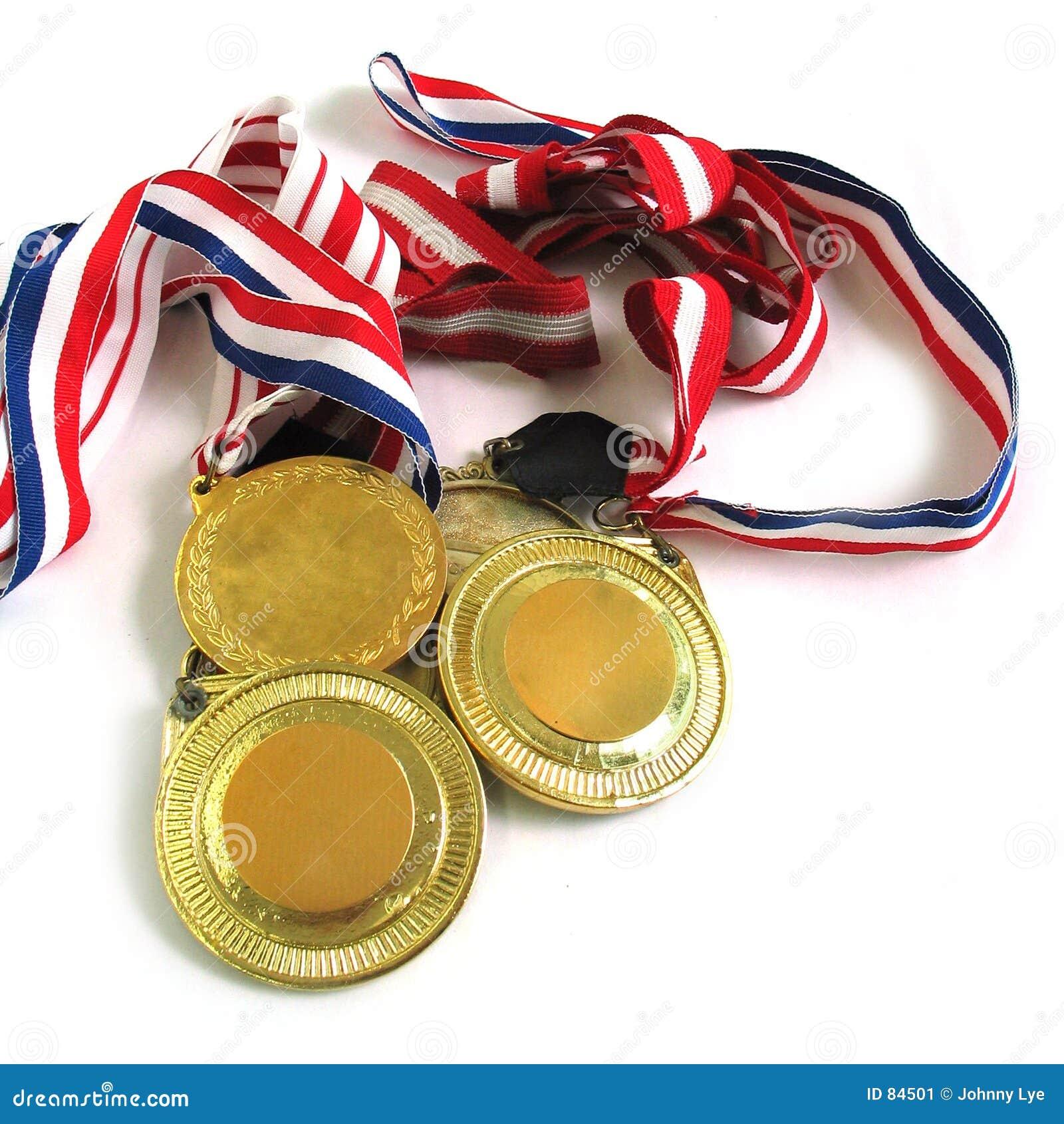 χρυσά μετάλλια