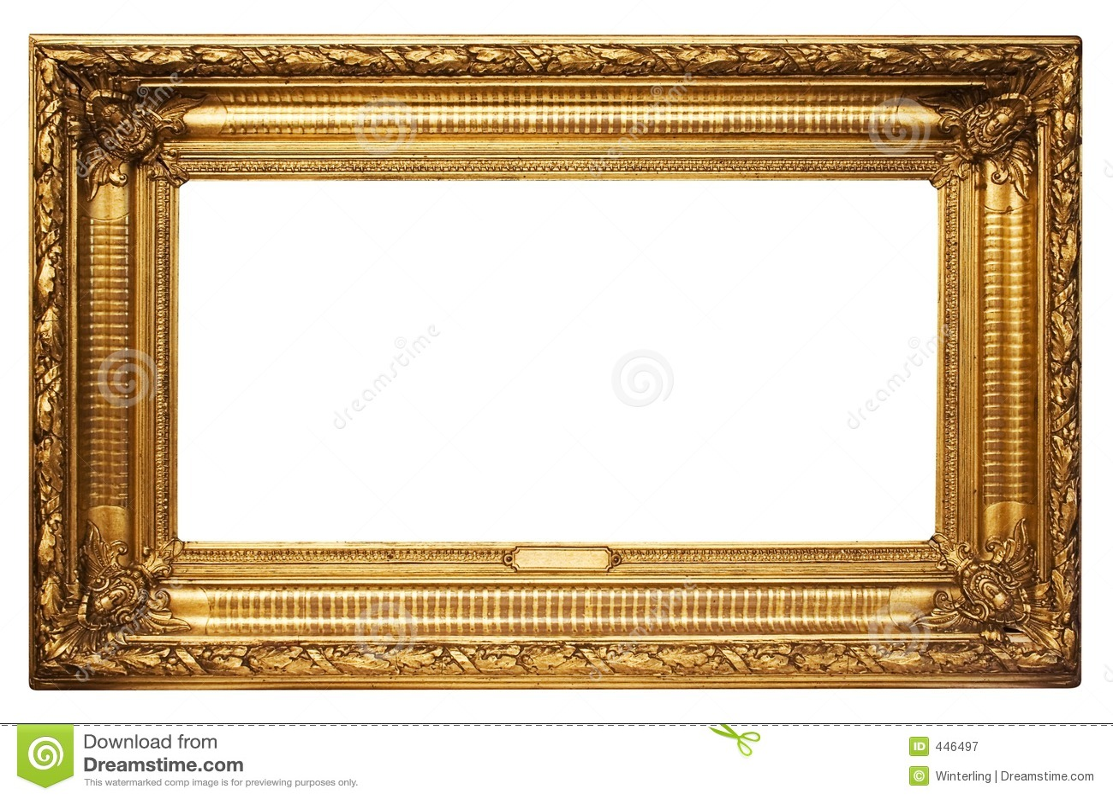 χρυσή εικόνα W μονοπατιών πλ