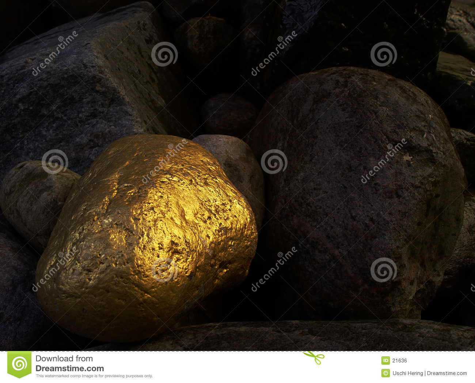 χρυσή πέτρα