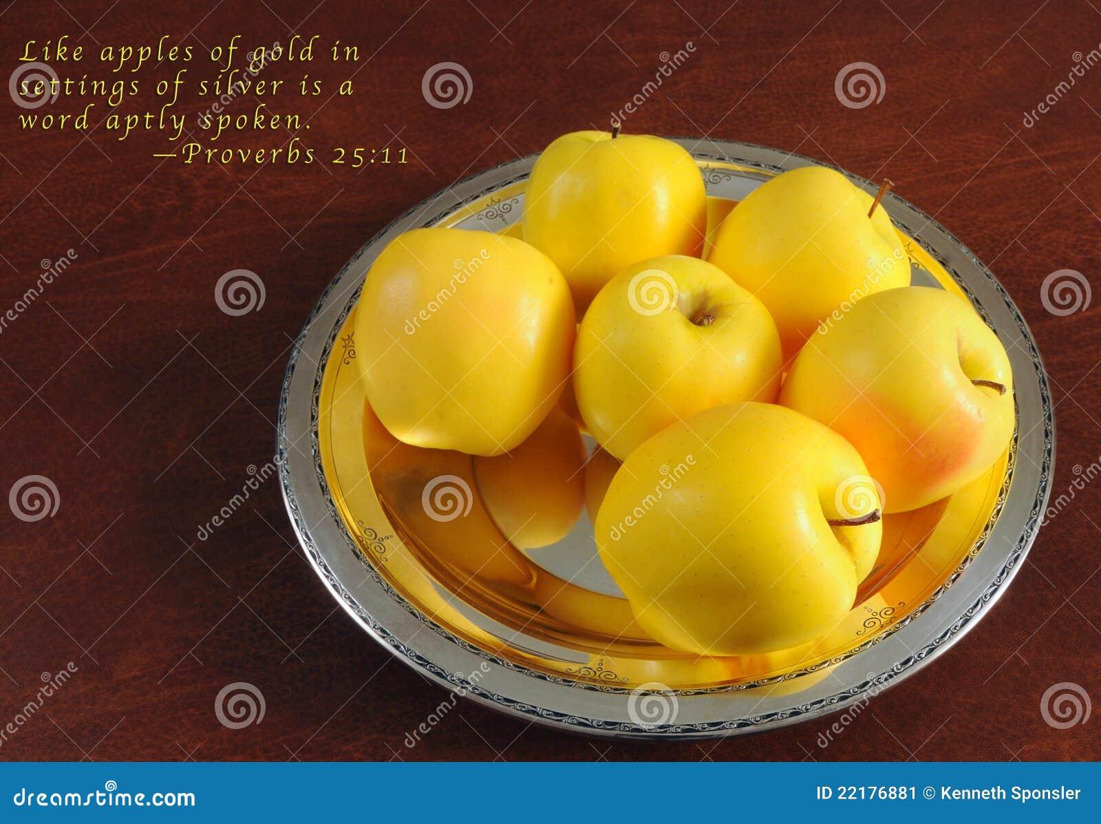 χρυσή παροιμία μήλων