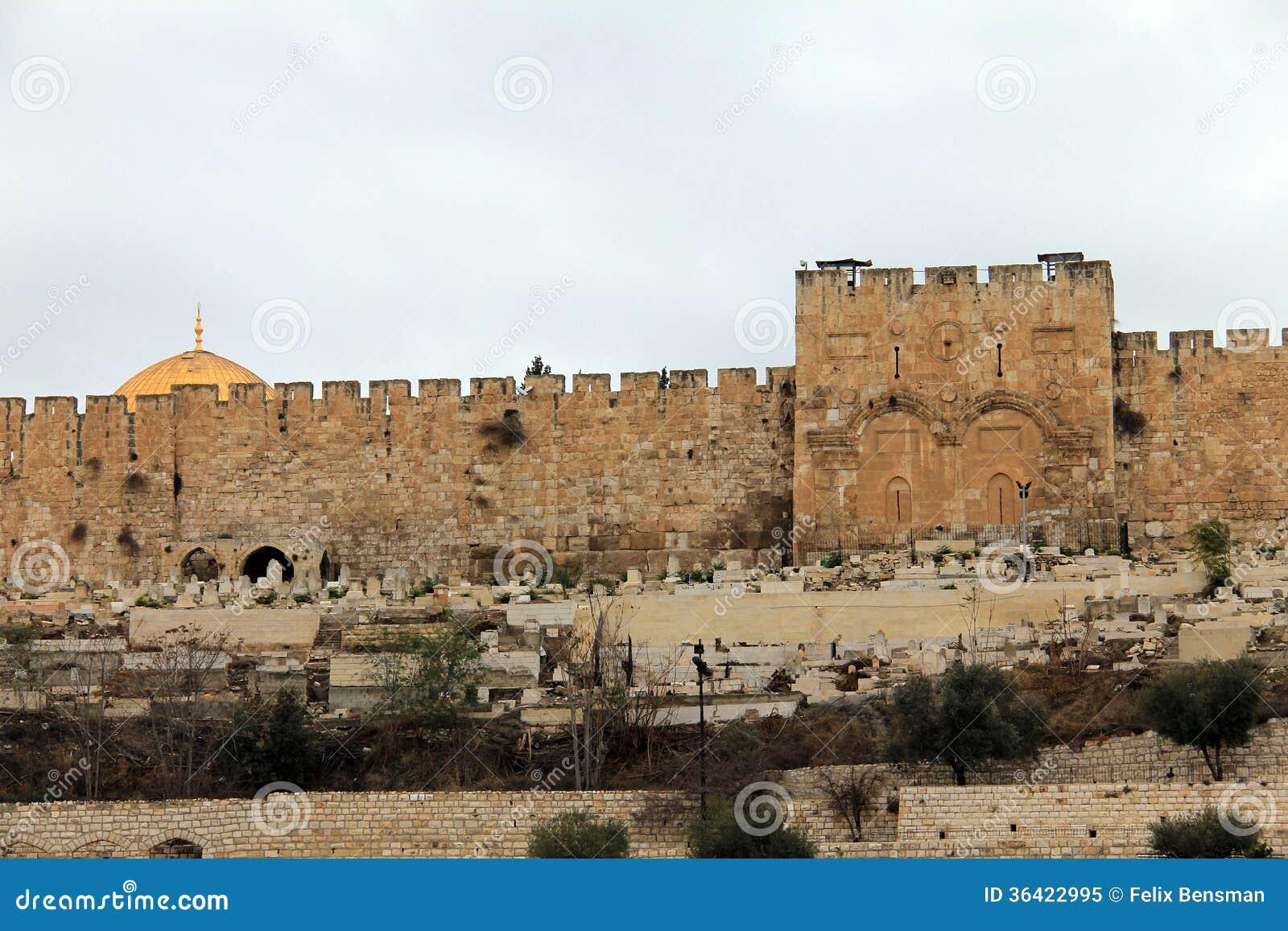 Χρυσή πύλη. Ιερουσαλήμ, Ισραήλ.