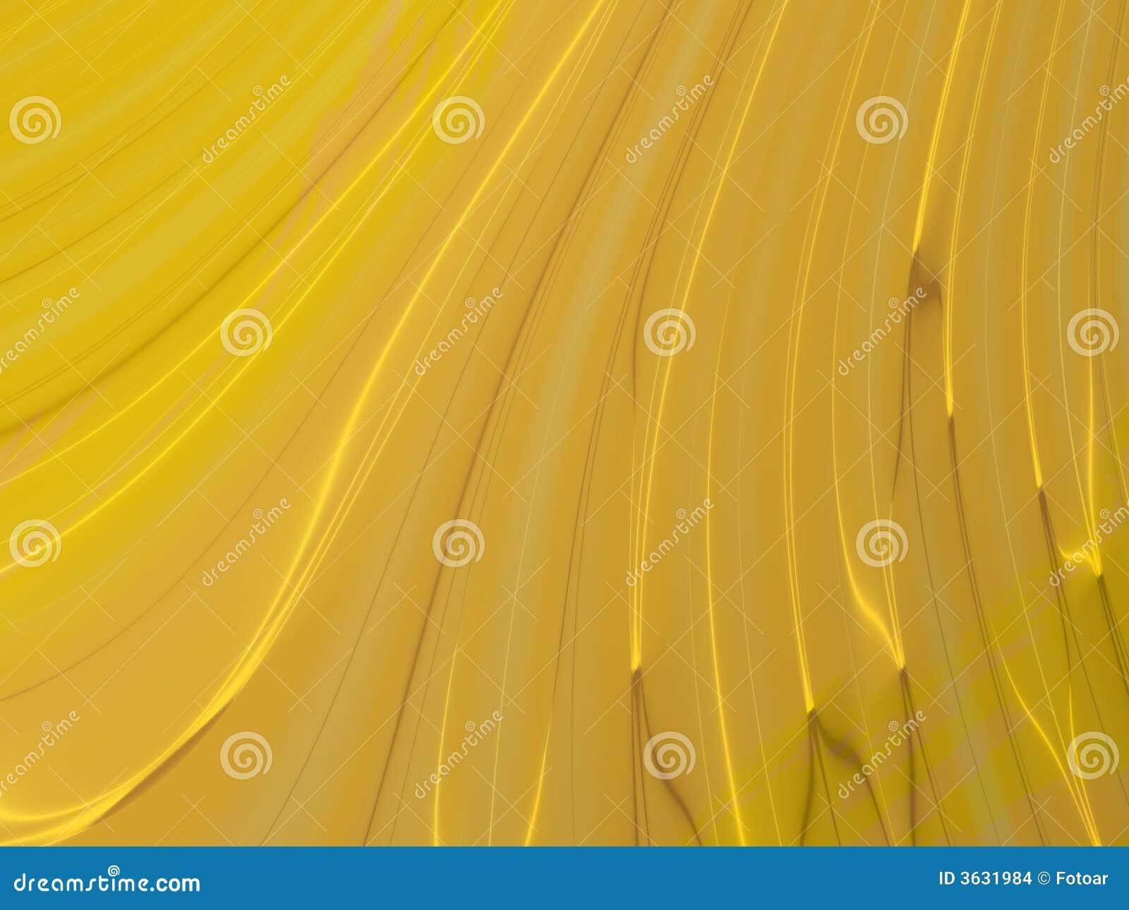 χρυσός καμπυλών κυματιστ