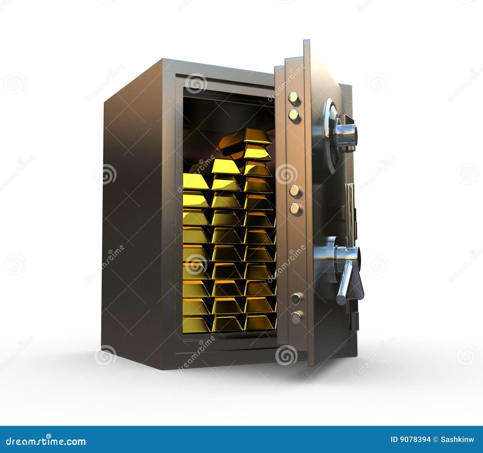 χρυσός μέσα στο χρηματοκι