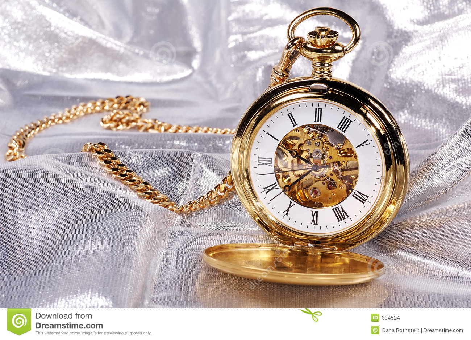 χρυσός pocketwatch