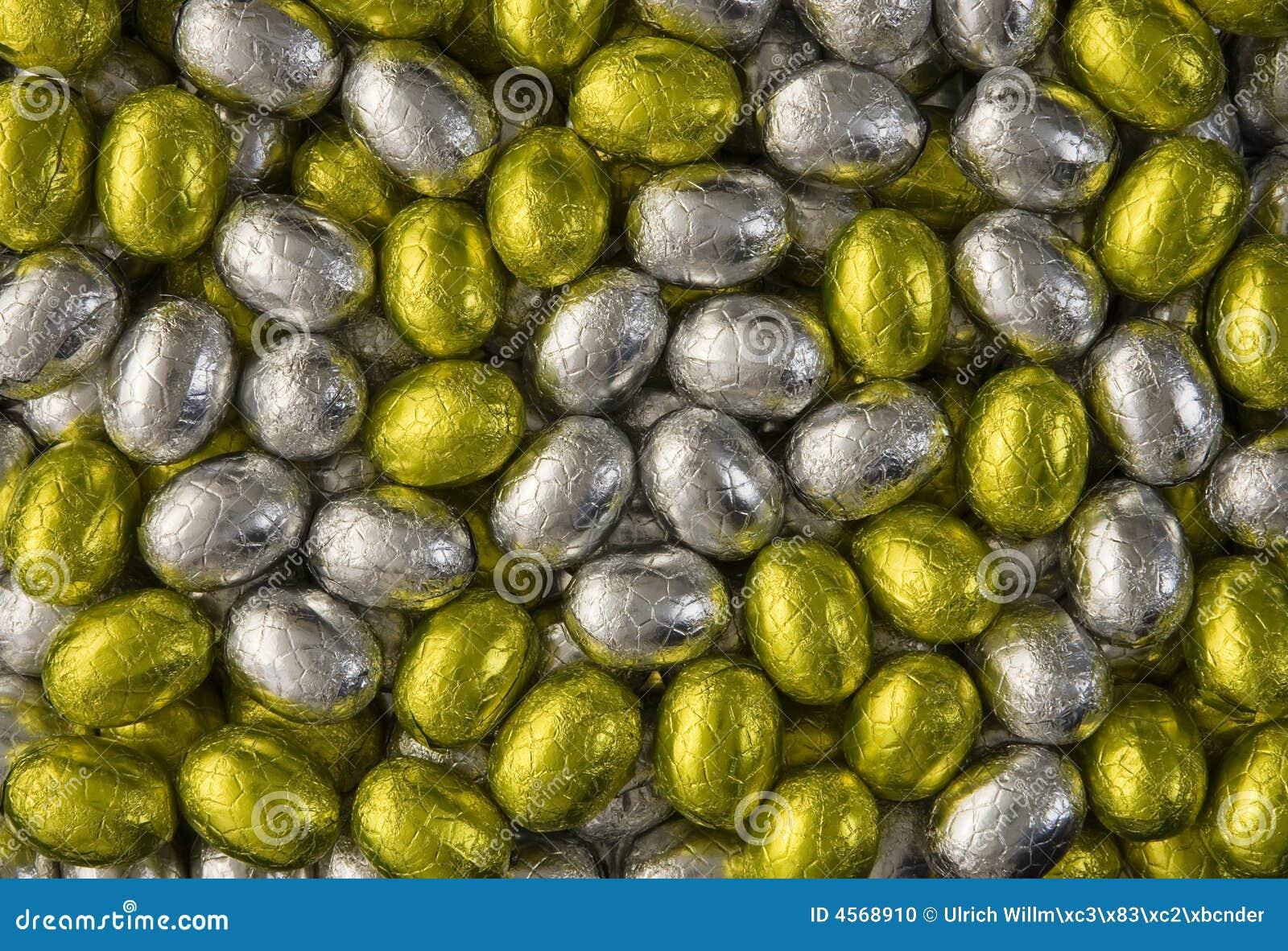 χρυσό ασήμι αυγών