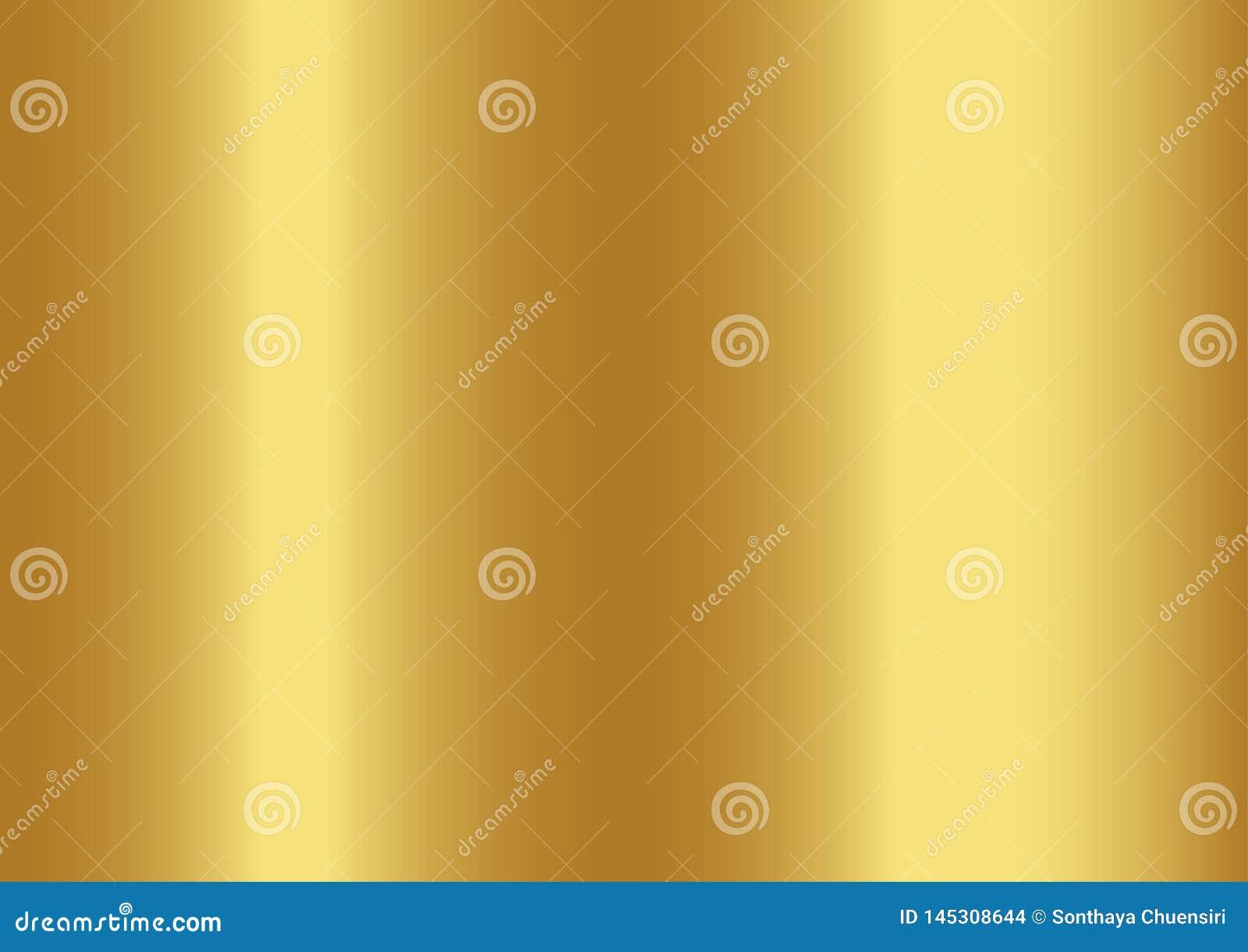 Χρυσό αφηρημένο υπόβαθρο χρώματος, διανυσματικές απεικονίσεις