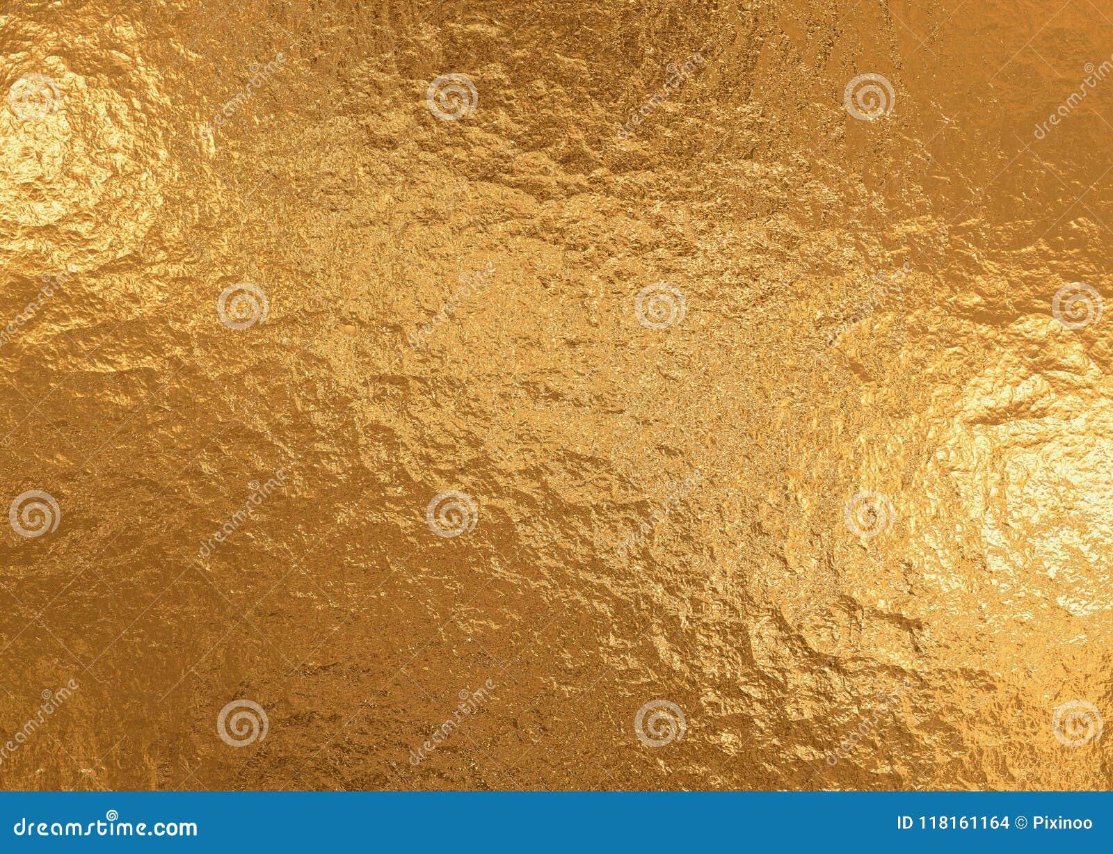 Χρυσό μεταλλικό υπόβαθρο, σύσταση λινού, φωτεινό εορταστικό υπόβαθρο