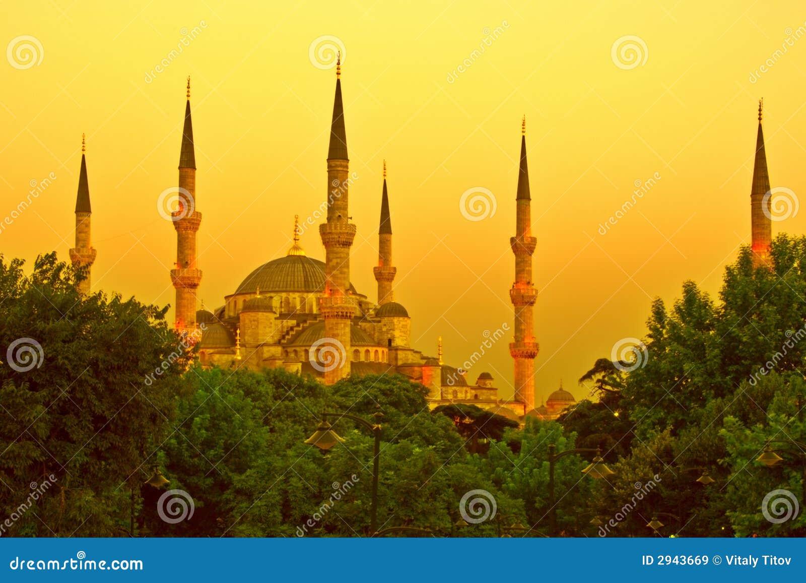 χρυσό μουσουλμανικό τέμ&epsilo