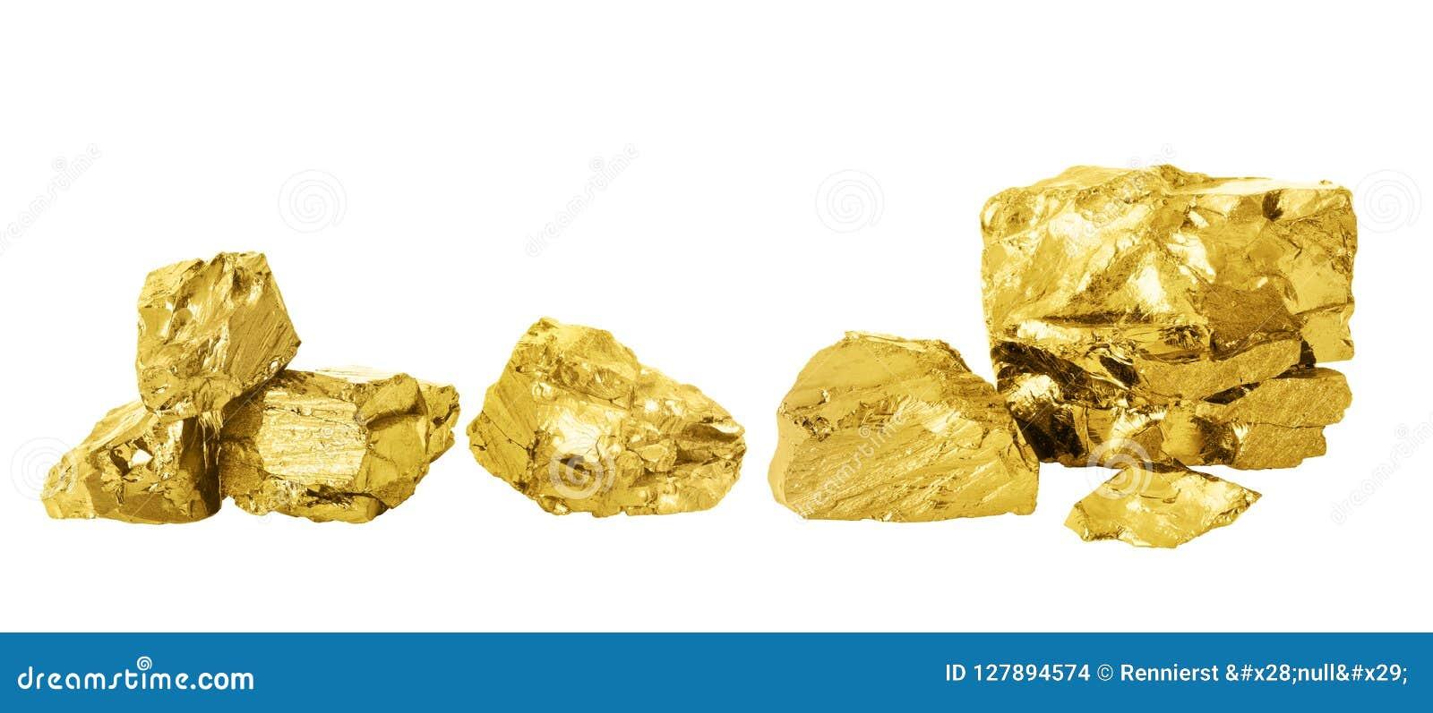Χρυσό σύνολο ψηγμάτων