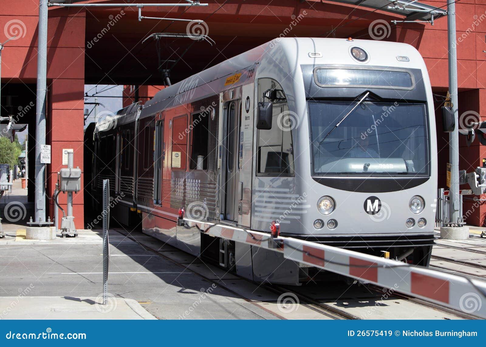 Χρυσό τραίνο γραμμών στο Πασαντένα