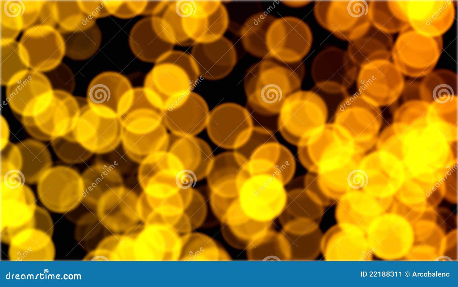 Χρυσό bokeh Χριστουγέννων