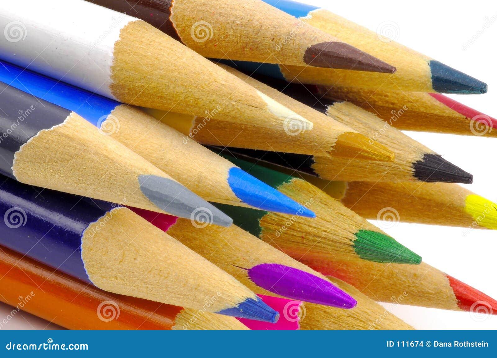 χρωμάτισε τα μολύβια