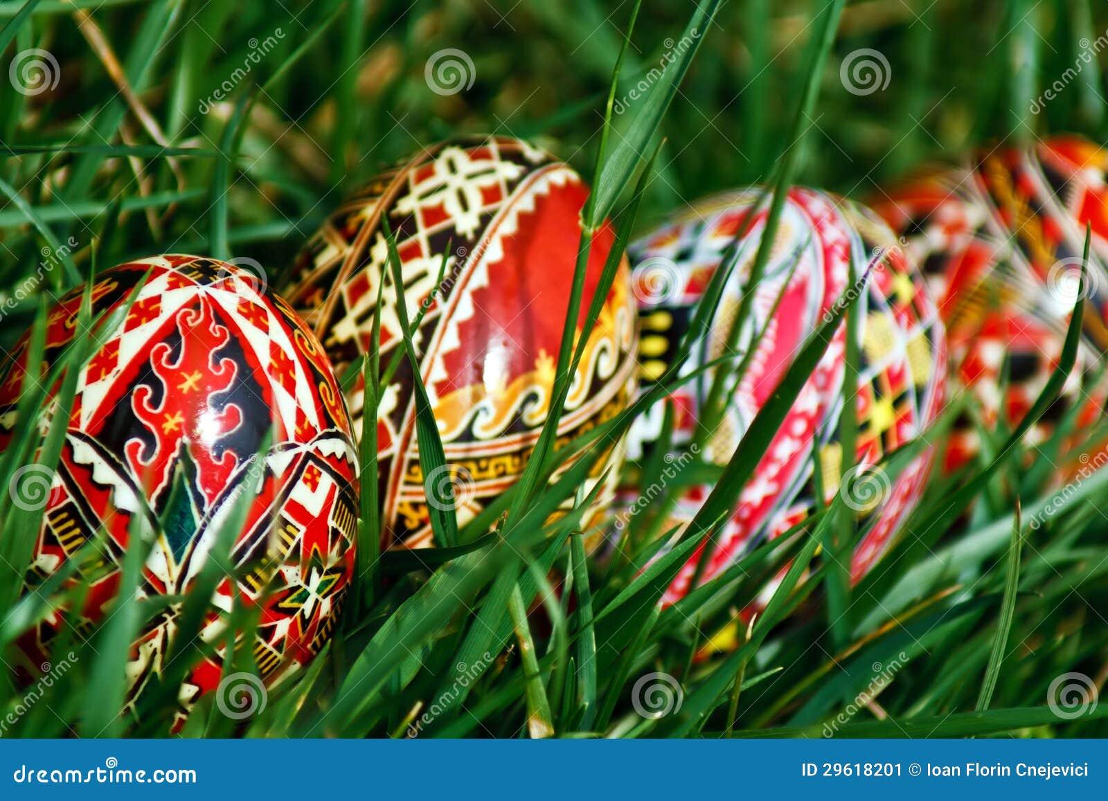 Χρωματισμένα αυγά Πάσχας 17