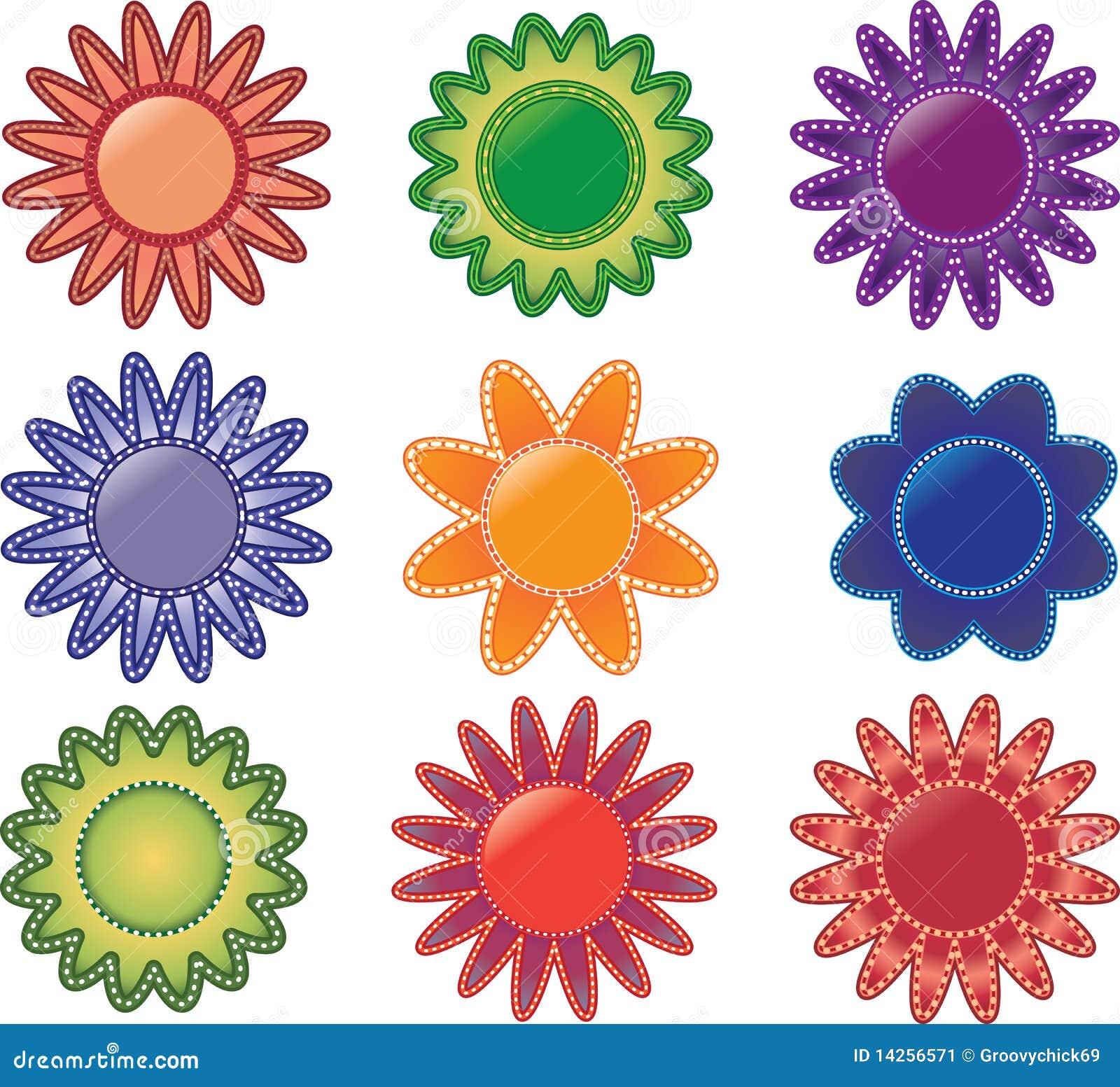 χρωματισμένα λουλούδια &p