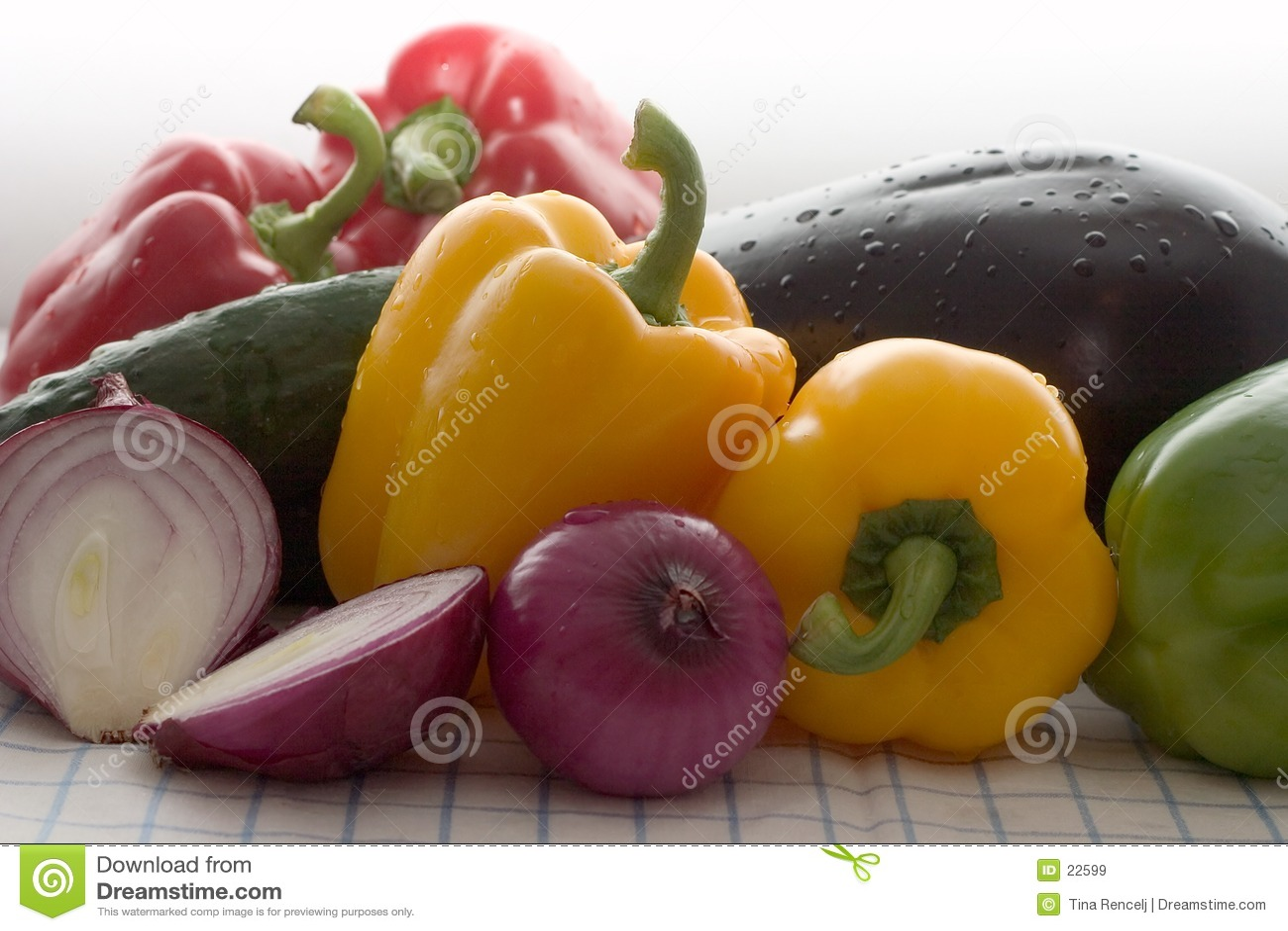 χρωματισμένα φρέσκα λαχαν&io