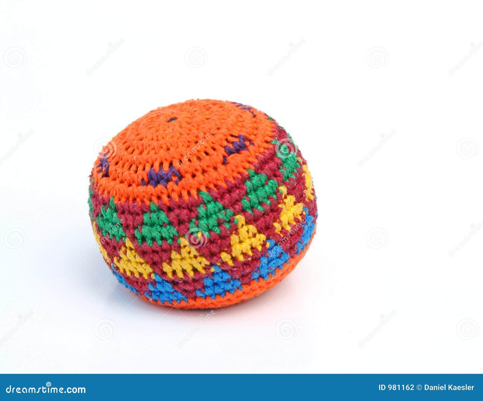 χρωματισμένος hackysack πολυ