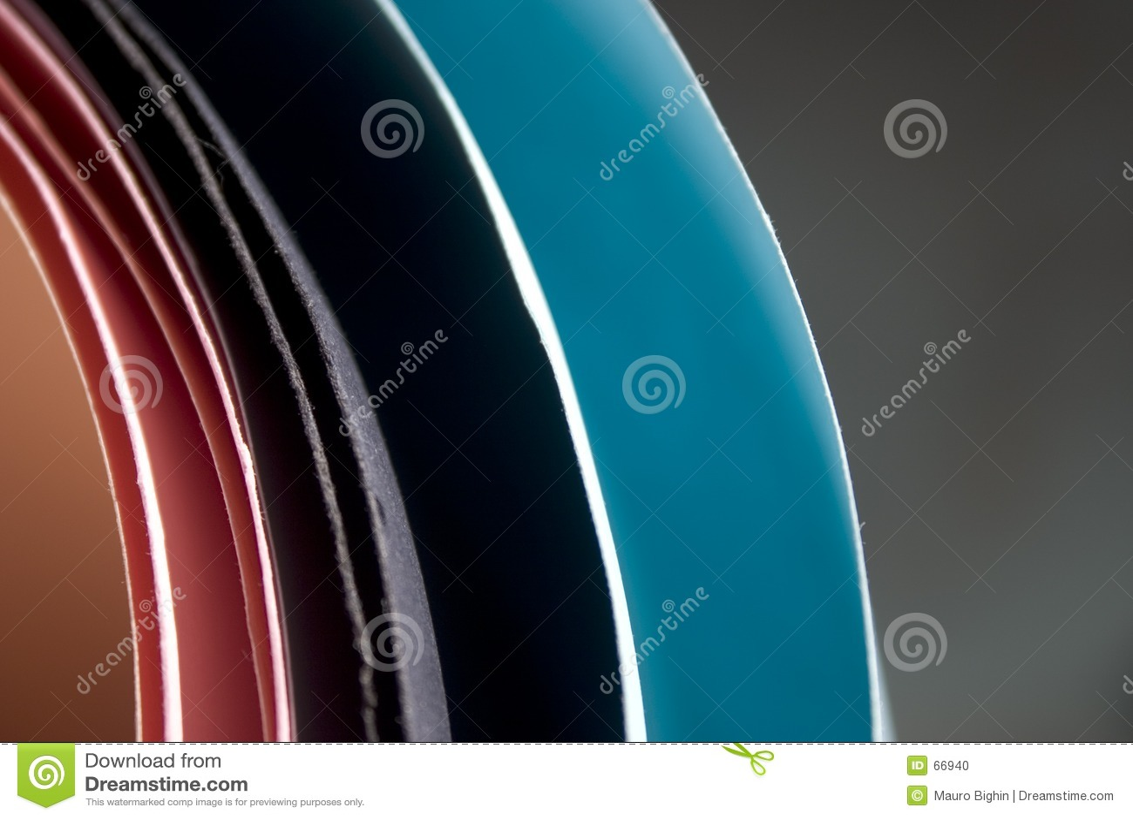 χρωματισμένος papersheets