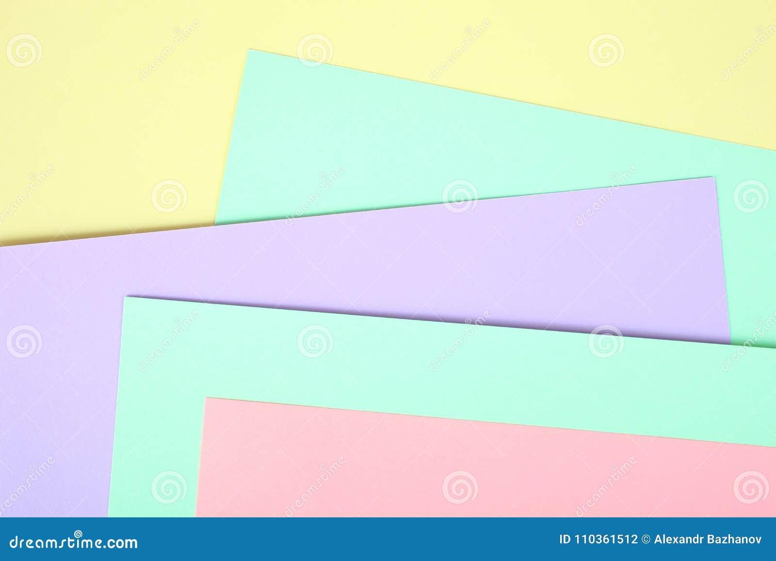 Χρωματισμένο κρητιδογραφία έγγραφο