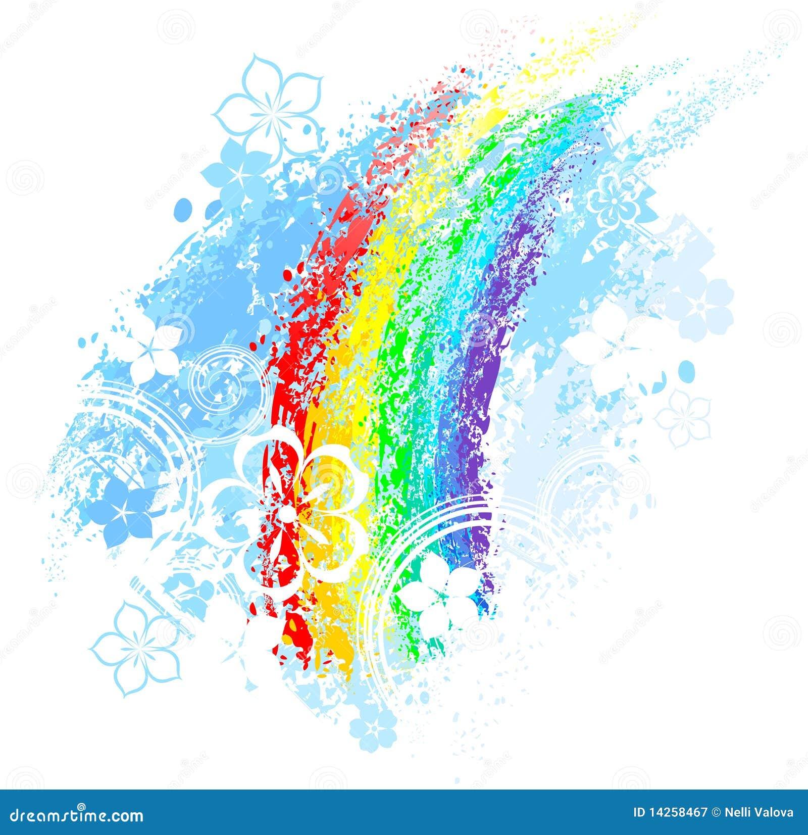 χρωματισμένο ουράνιο τόξο