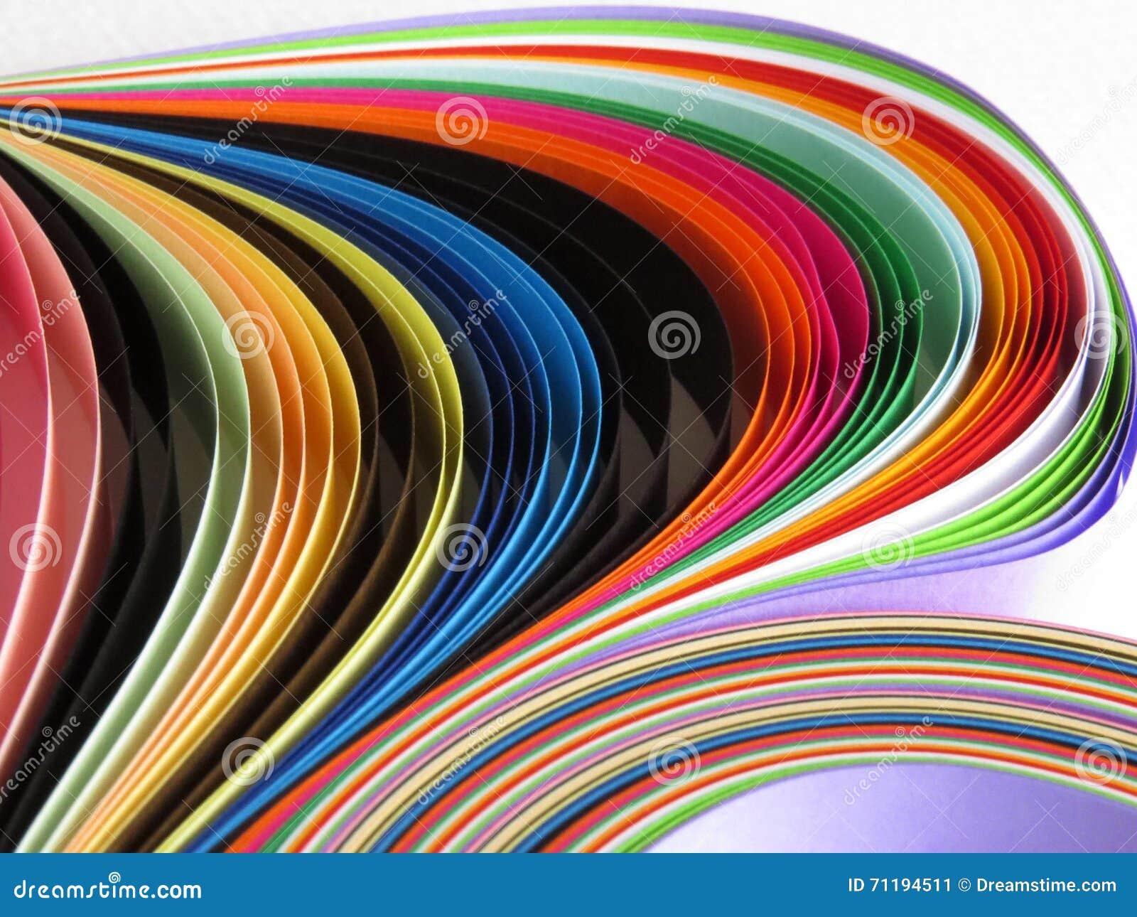 Χρωματισμένο υπόβαθρο λουρίδων εγγράφου