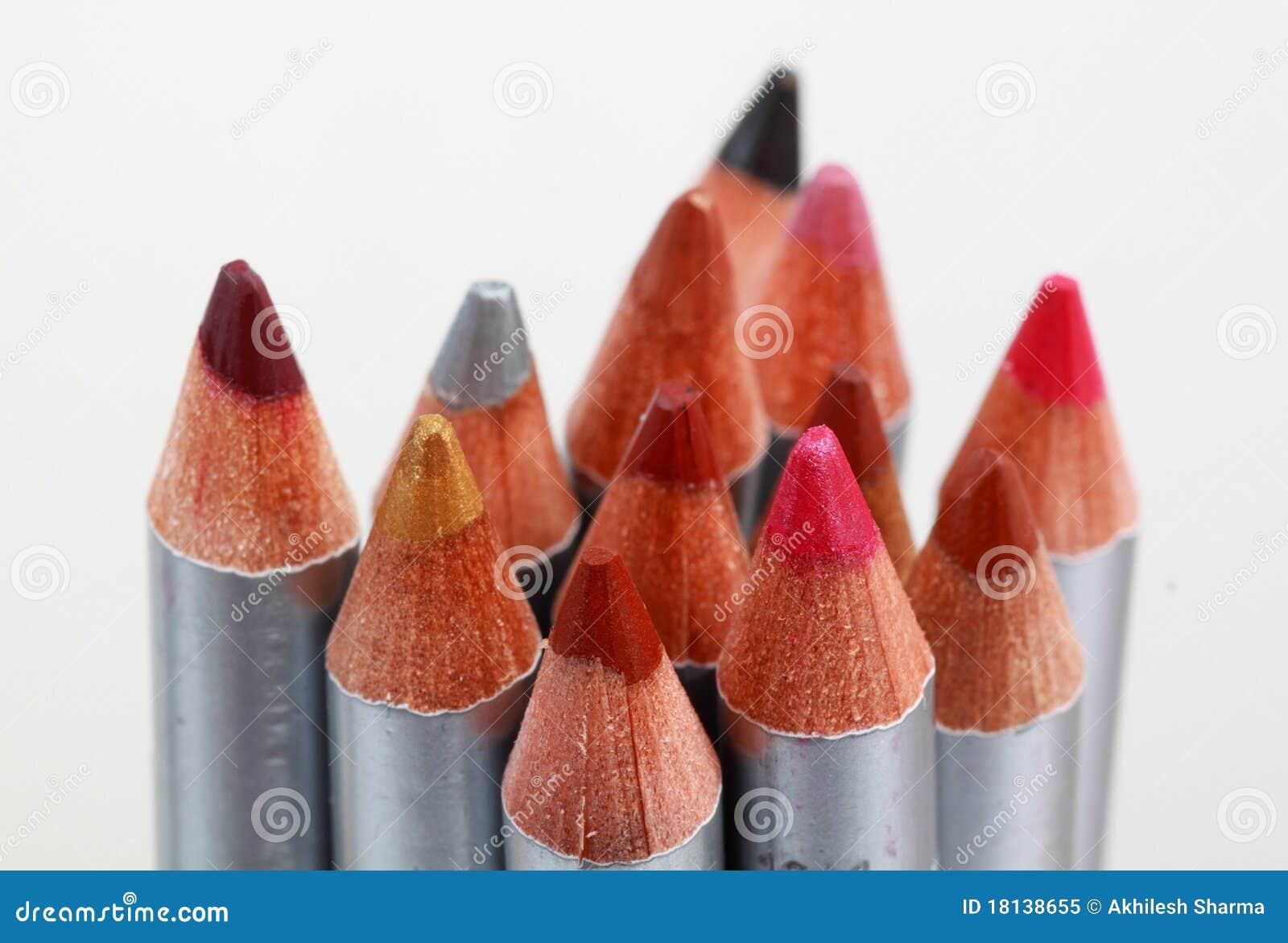 χρωματισμένο χειλικό μολύ