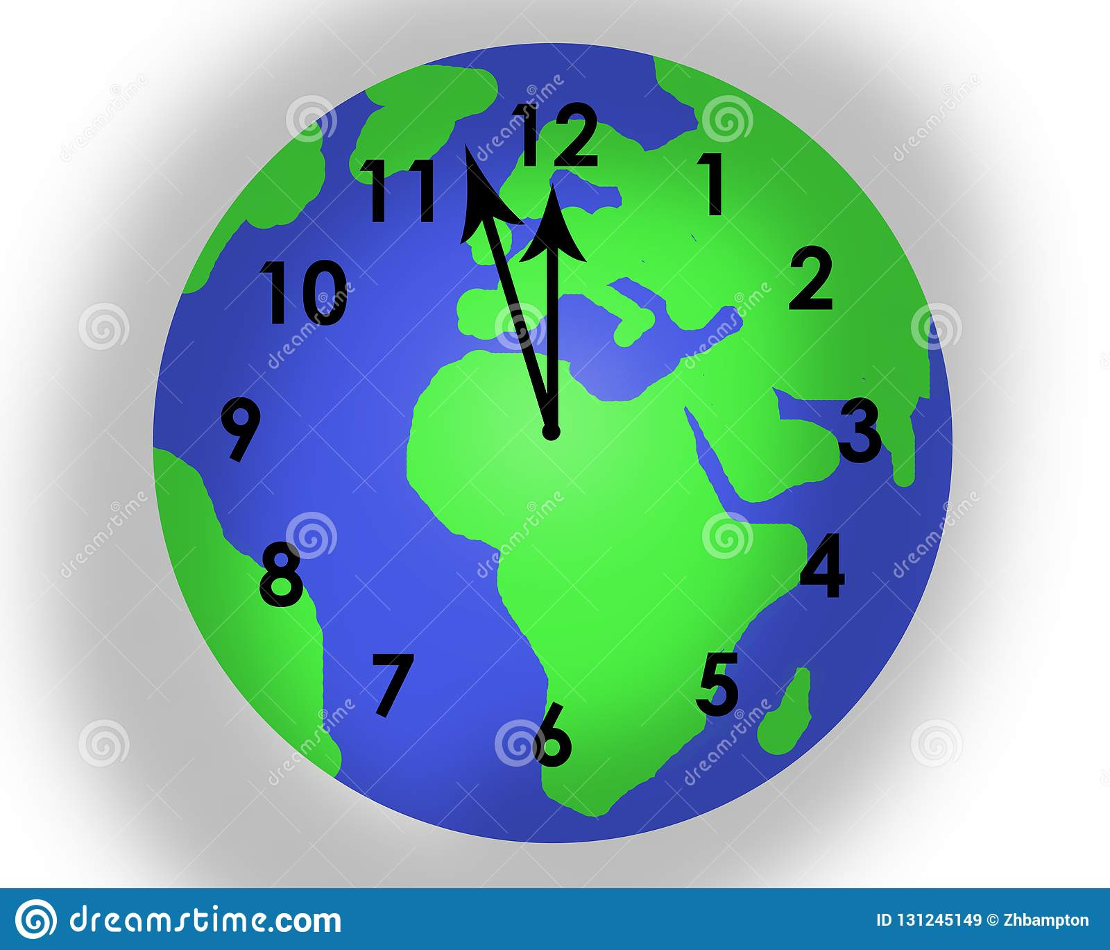 Χρόνος που τρέχει έξω για το πλανήτη Γη