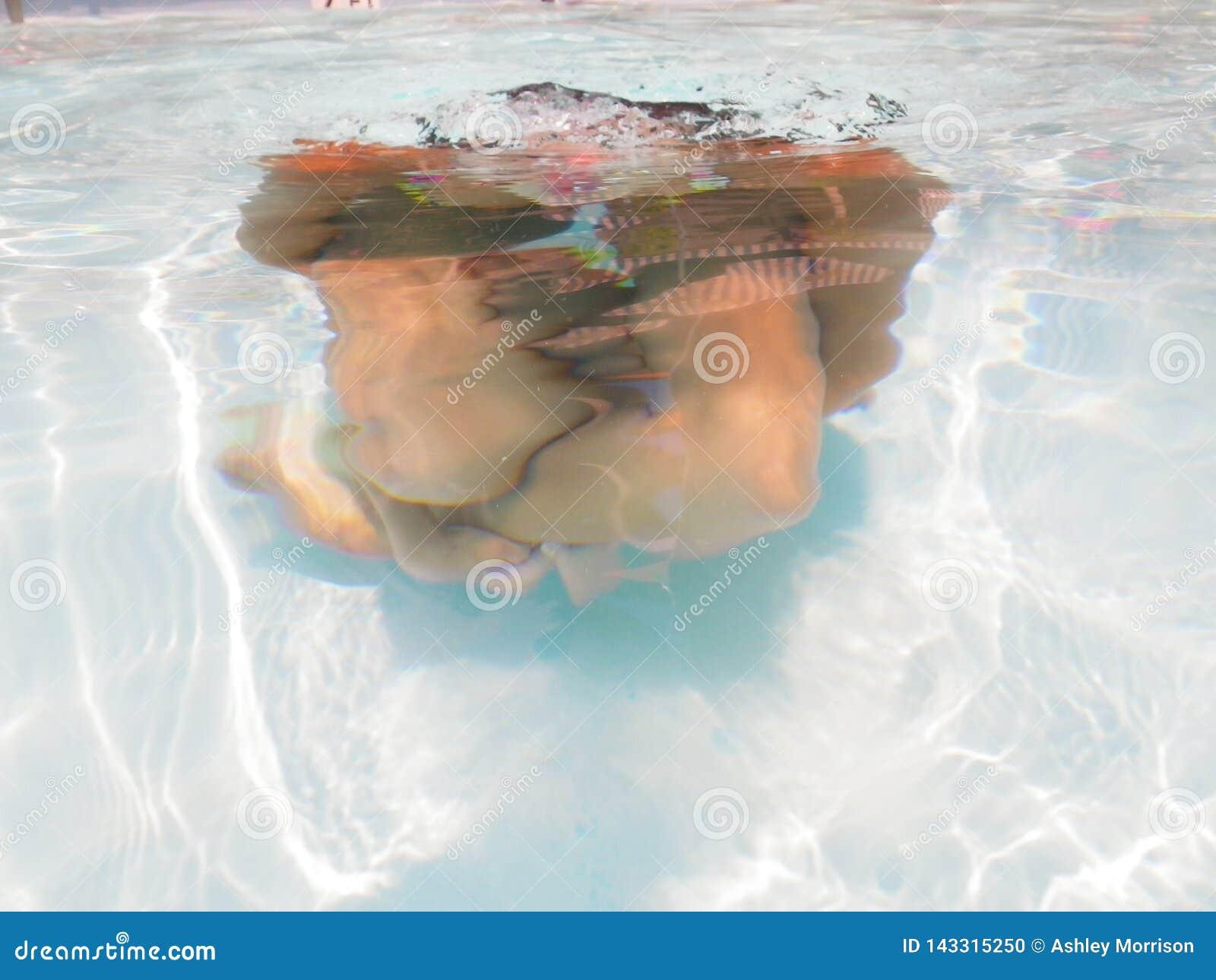 Χρόνος ψυχαγωγίας κάτω από το νερό
