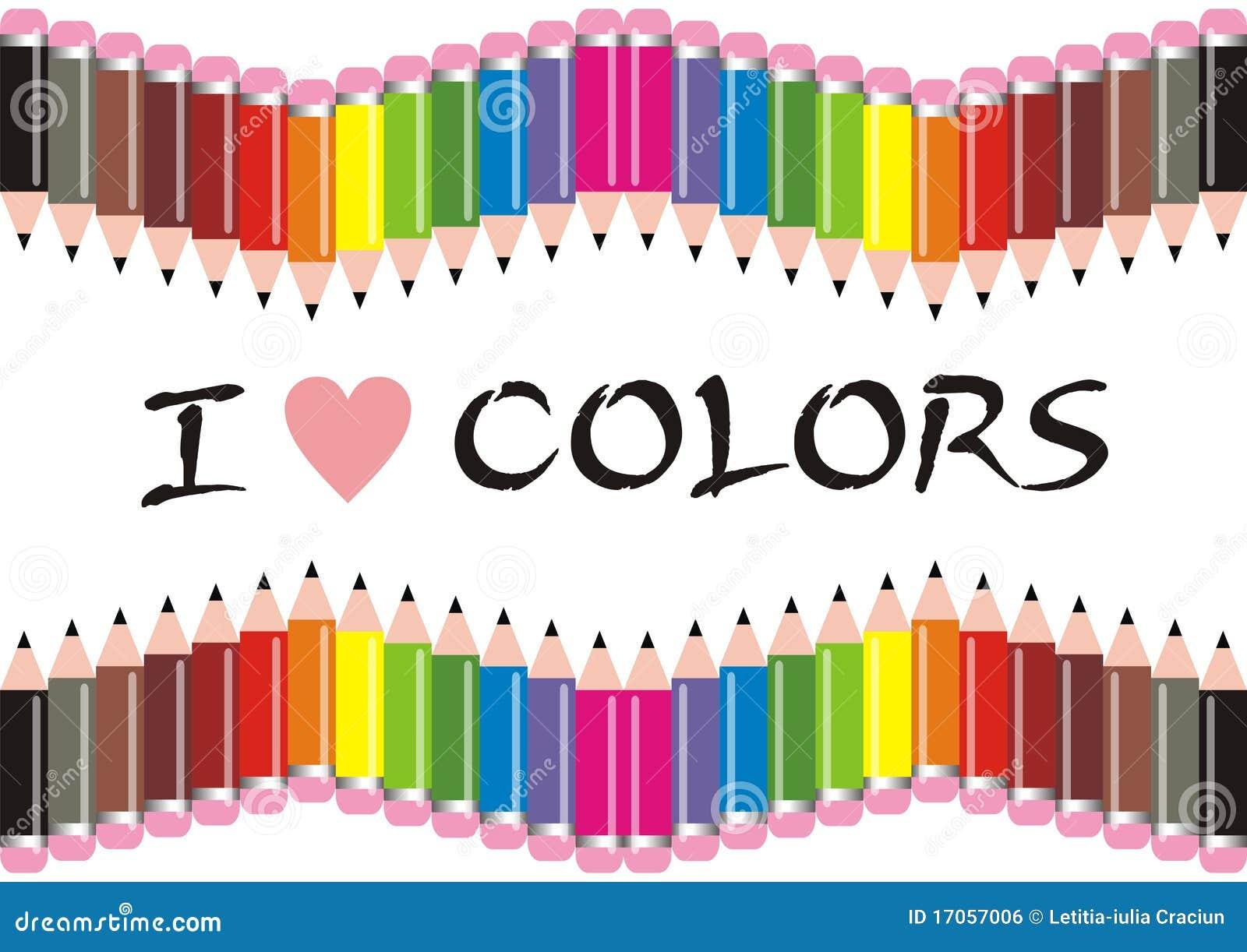 χρώματα ι μολύβια αγάπης