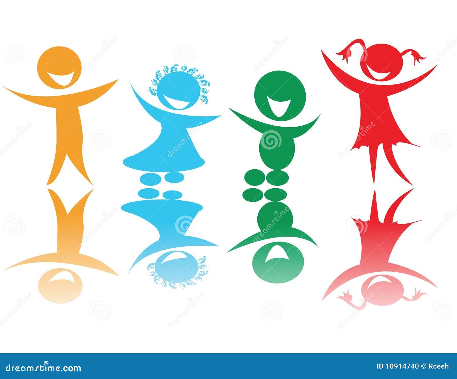 χρώματα παιδιών ευτυχή