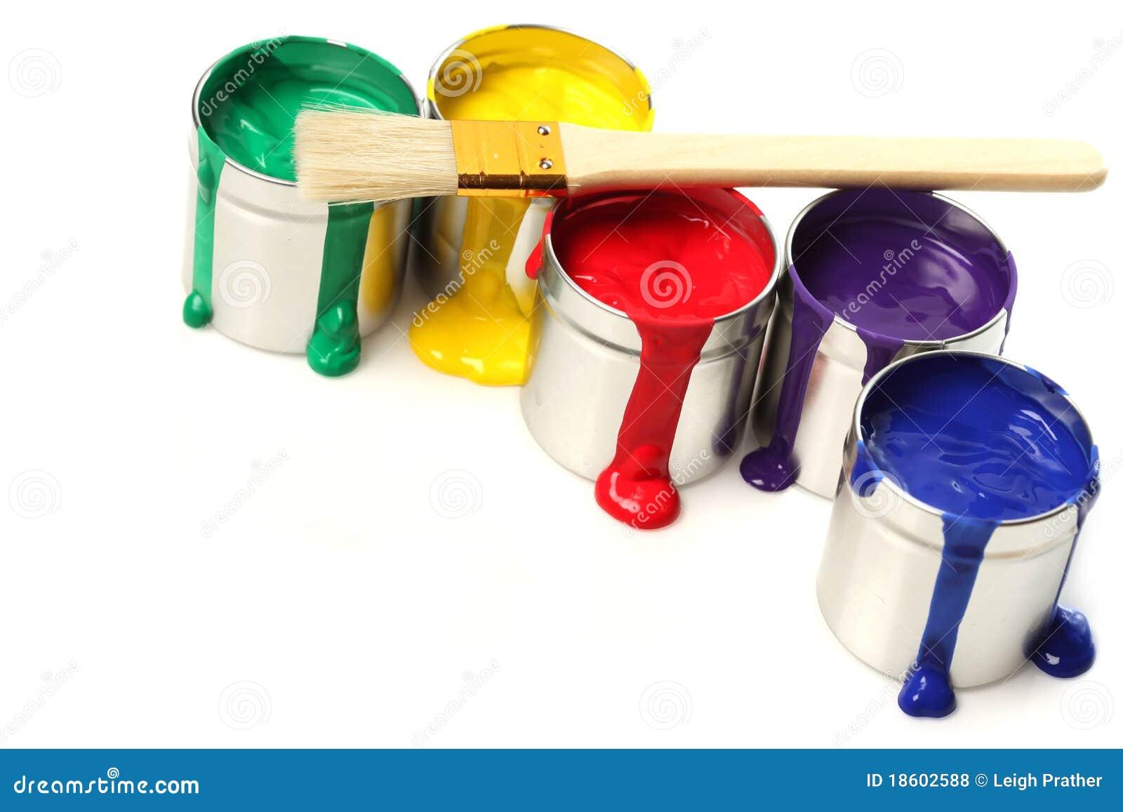 χρώμα δοχείων