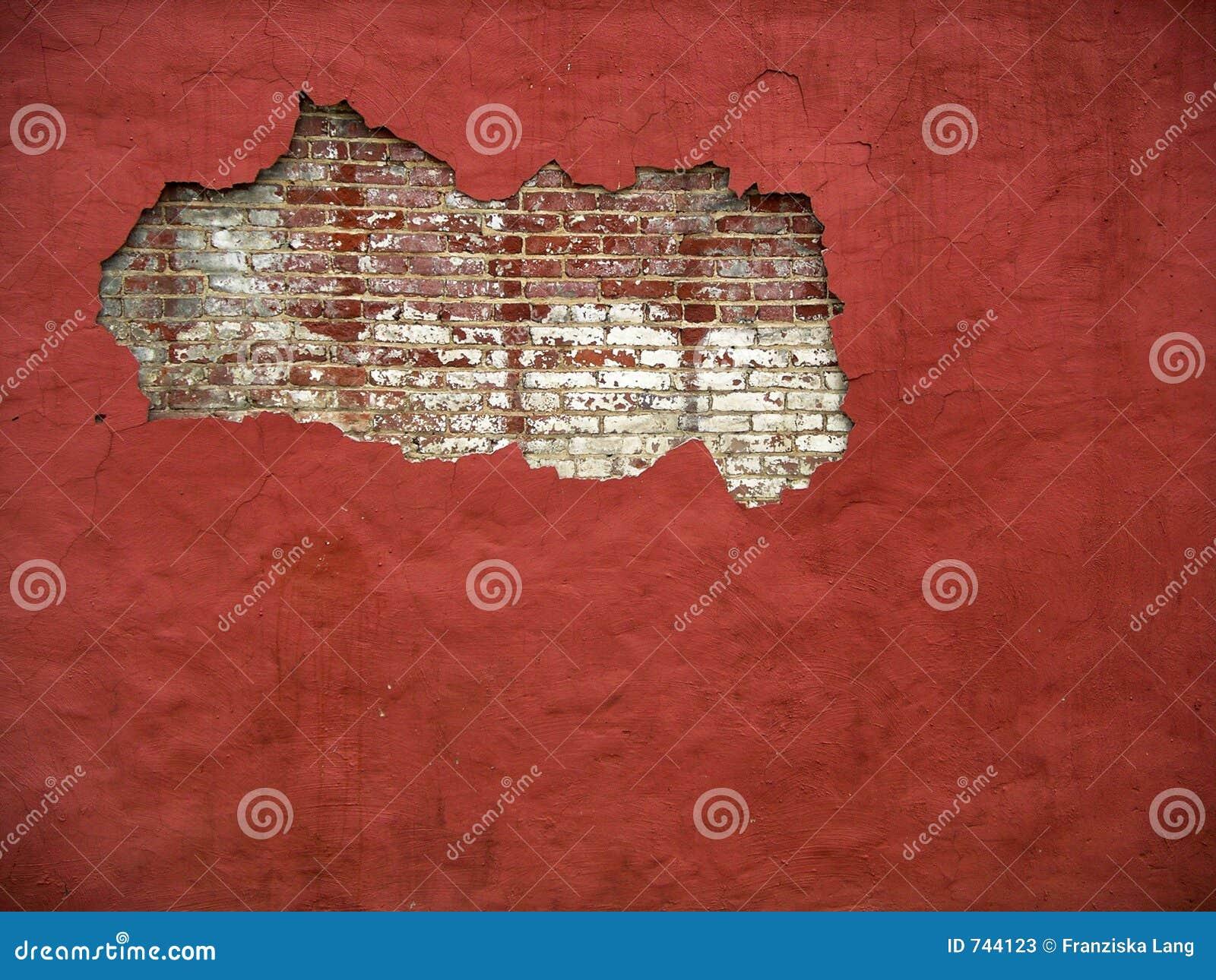 χρώμα ΙΙΙ τούβλου τοίχος