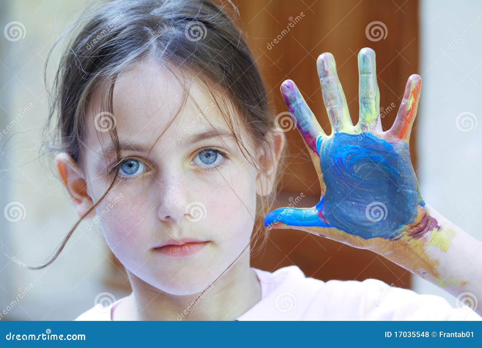 χρώμα παιδιών όμορφο